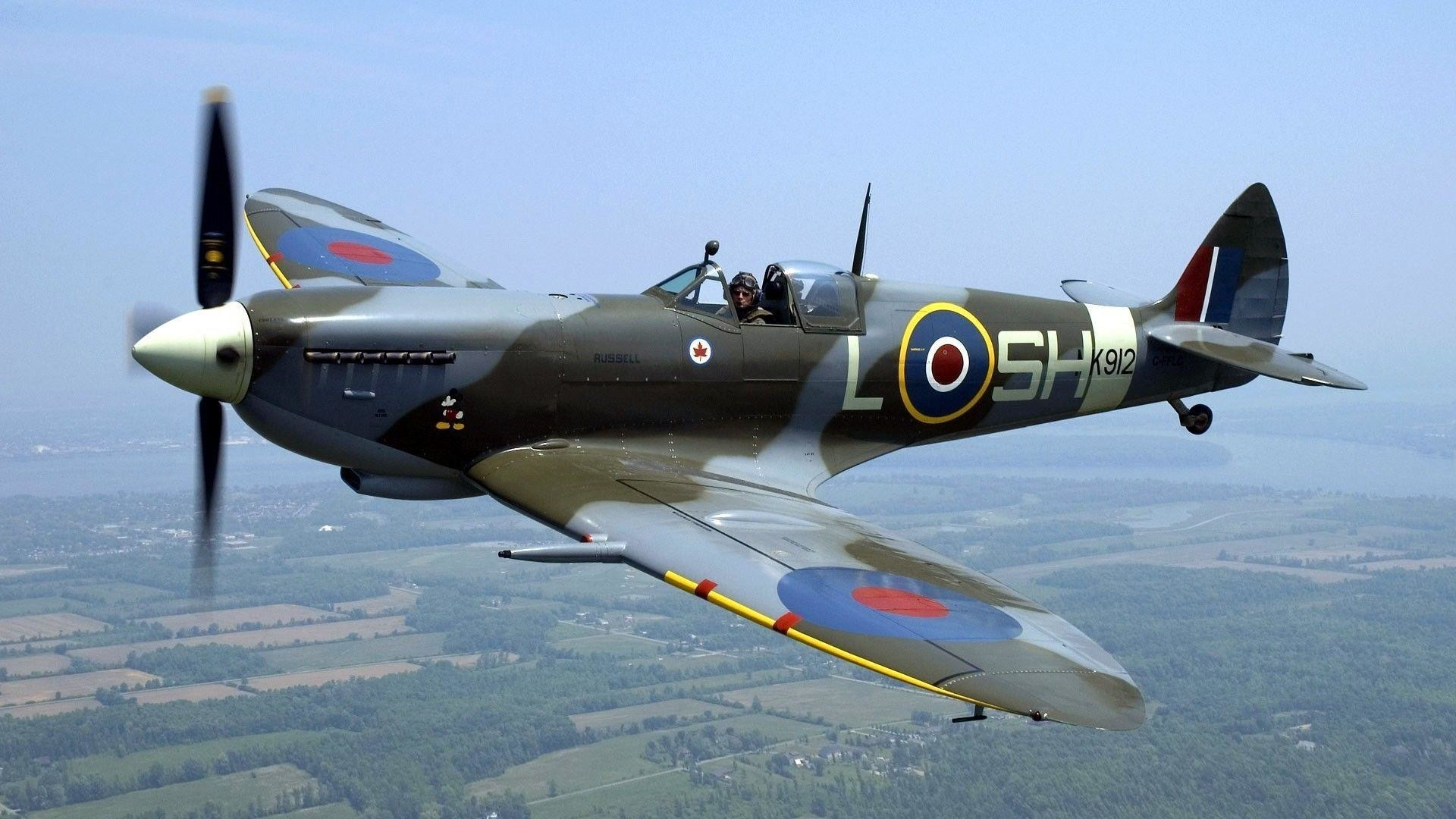 1920x1080 Supermarine Spitfire Wallpaper Hd Desktop 10 HD Wallpapers .