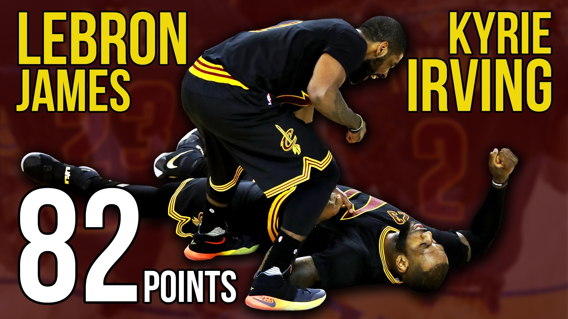 1920x1080 82 Points: Watch Kyrie Irving and Lebron James Make History