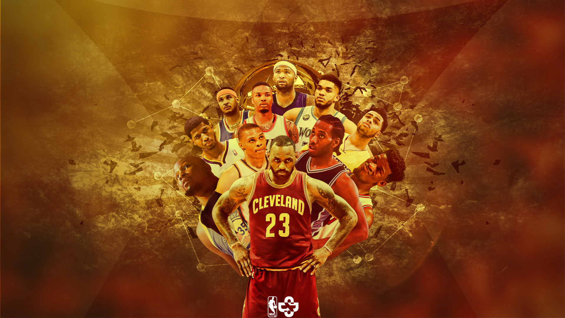 1920x1080 NBA 2K14 CLEVELAND CAVS 2014 2015 EASTERN CONFERENCE CHAMPSSTARTING LEBRON JAMES 201