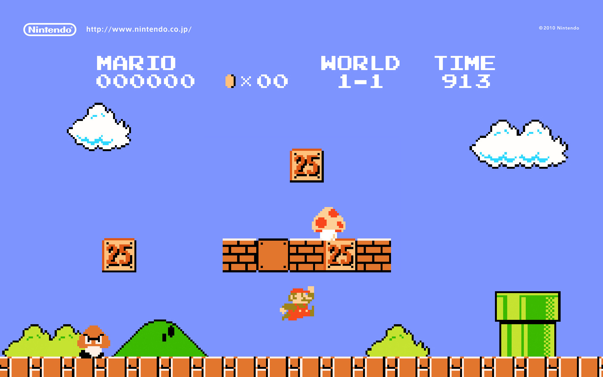 1920x1200 Boo Mansion | Multimedia | Wallpapers | Super Mario Bros. 25th Anniversary