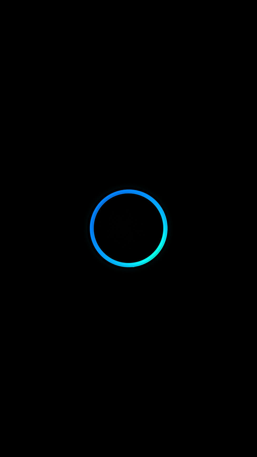 1080x1920 turquoise blue circle minimal android wallpaper