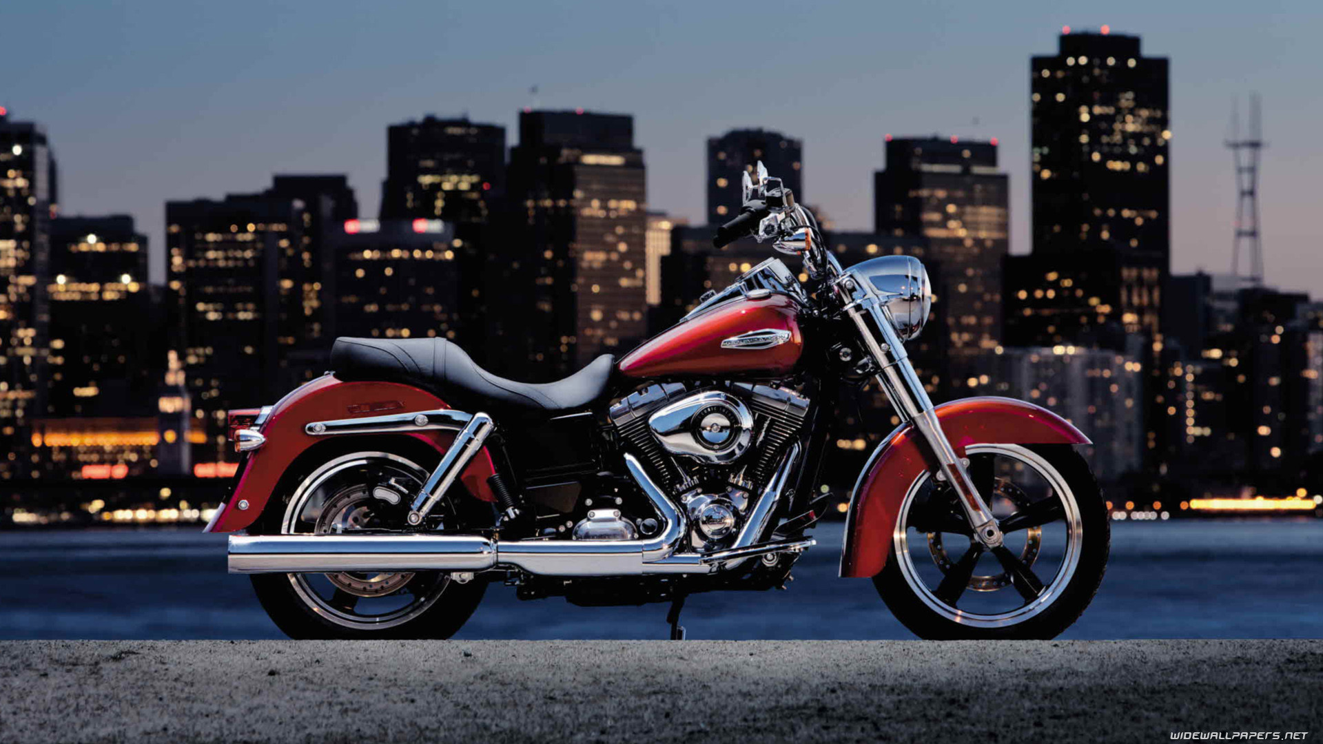 1920x1080 Harley-Davidson Dyna Switchback motorcycle wallpapers