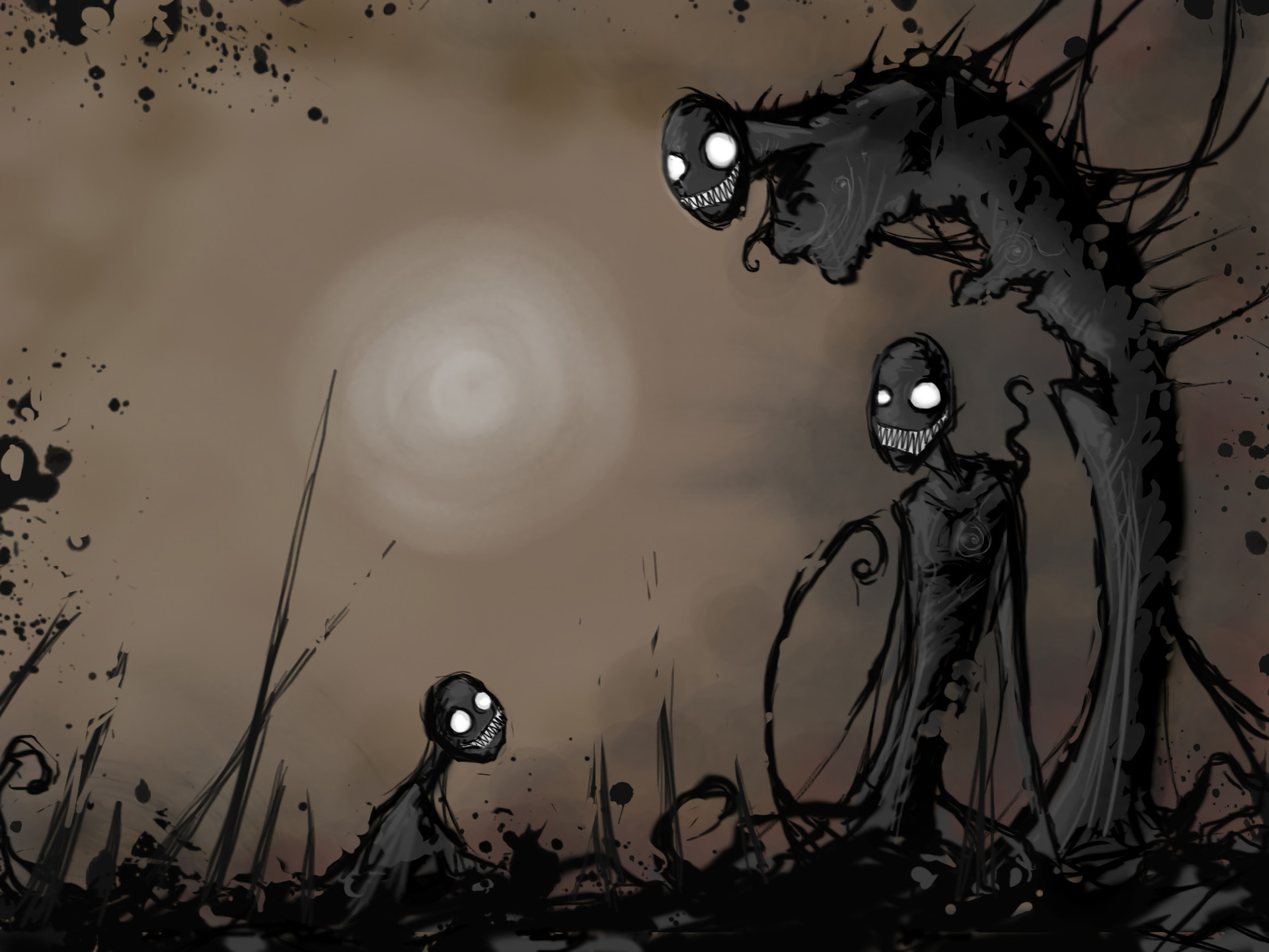 Cool creepy backgrounds
