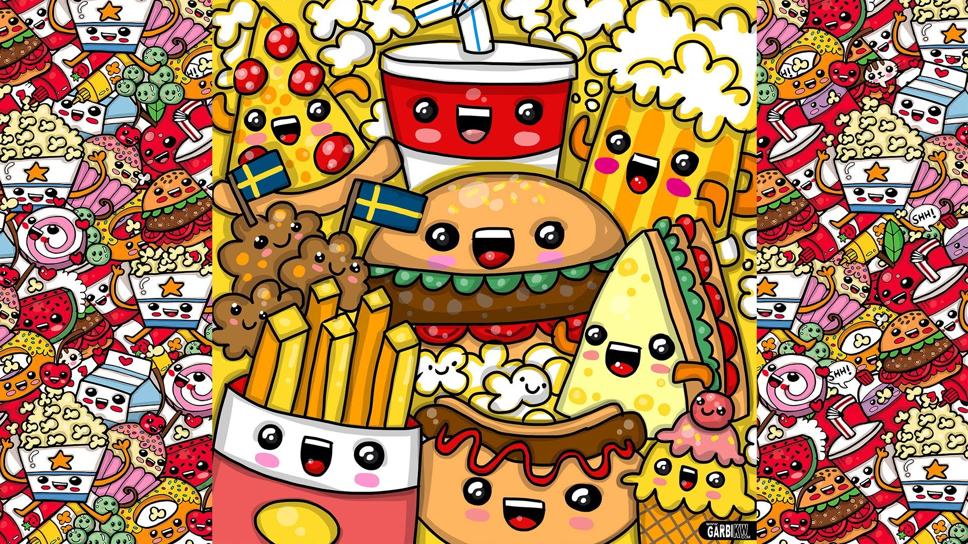 cute food wallpapers 58 images