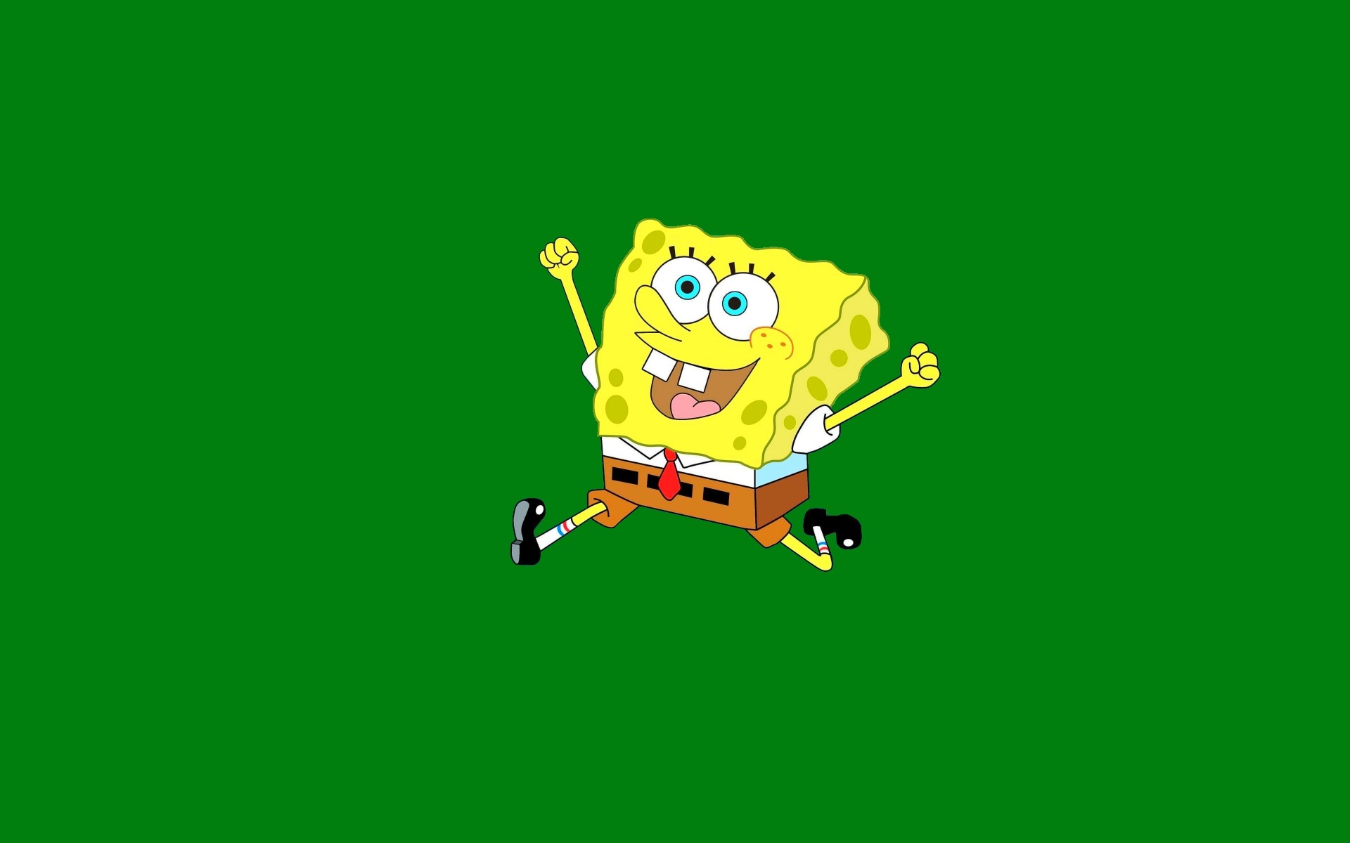 1920x1200 Simple SpongeBob HD background:
