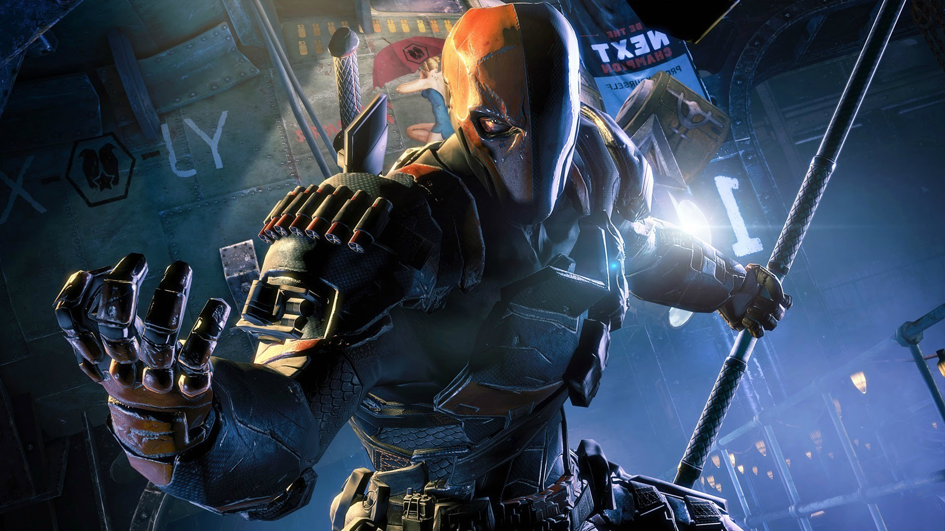 1920x1080 Deathstroke Arkham Origins Wallpaper Photo ...