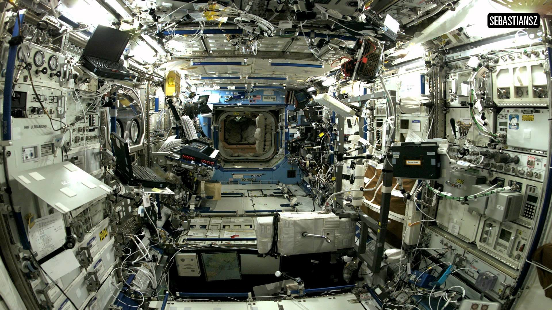 1920x1080 International Space Station Interior - Pics about space