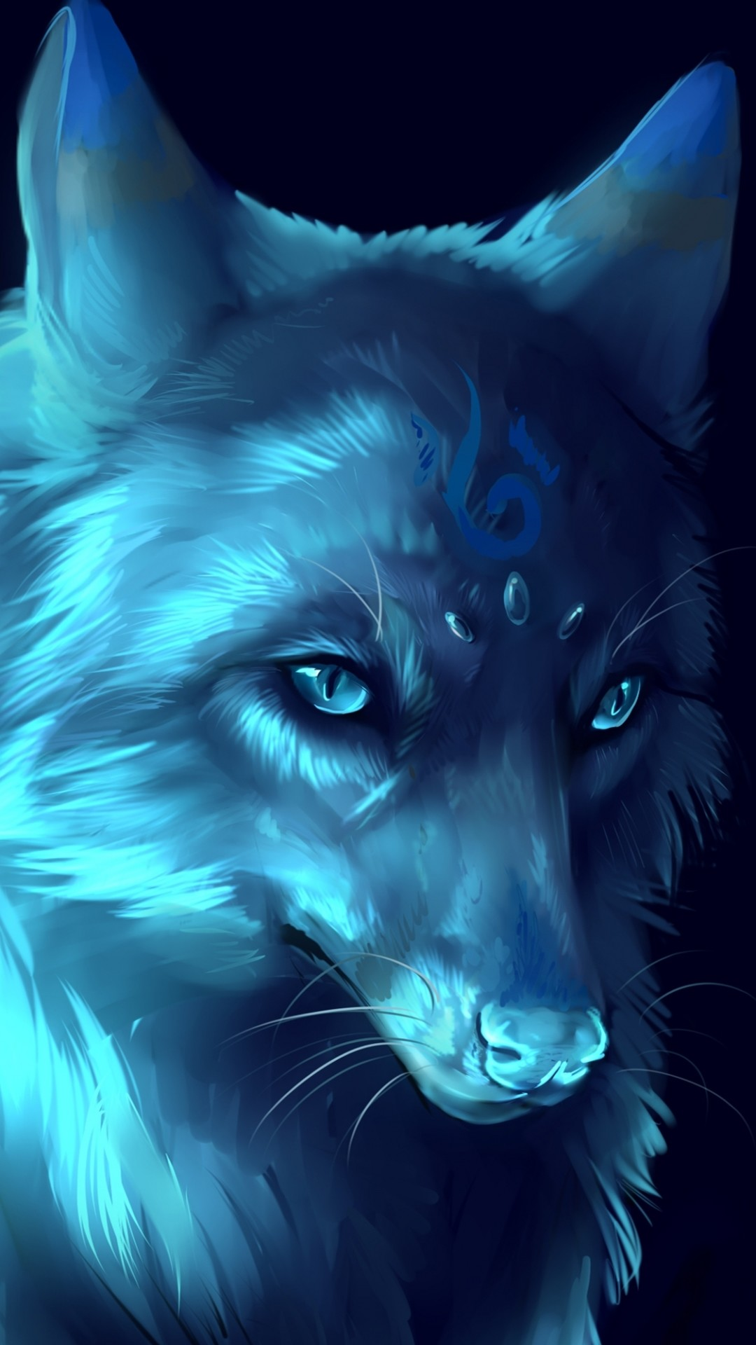 Trippy Wolf Wallpapers 66 Images
