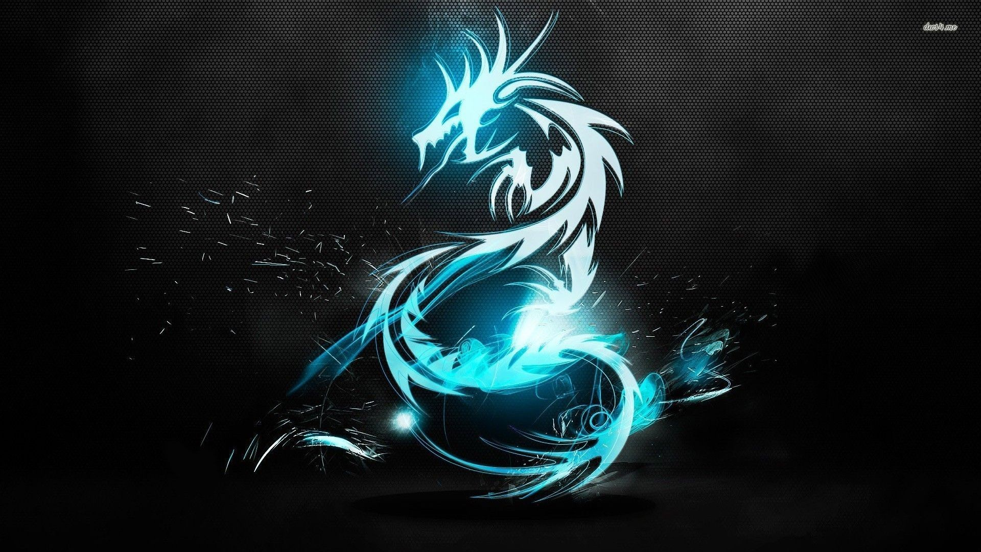 Hd Wallpaper 1920x1080 Black Blue: Blue Dragon Wallpaper HD (70+ Images