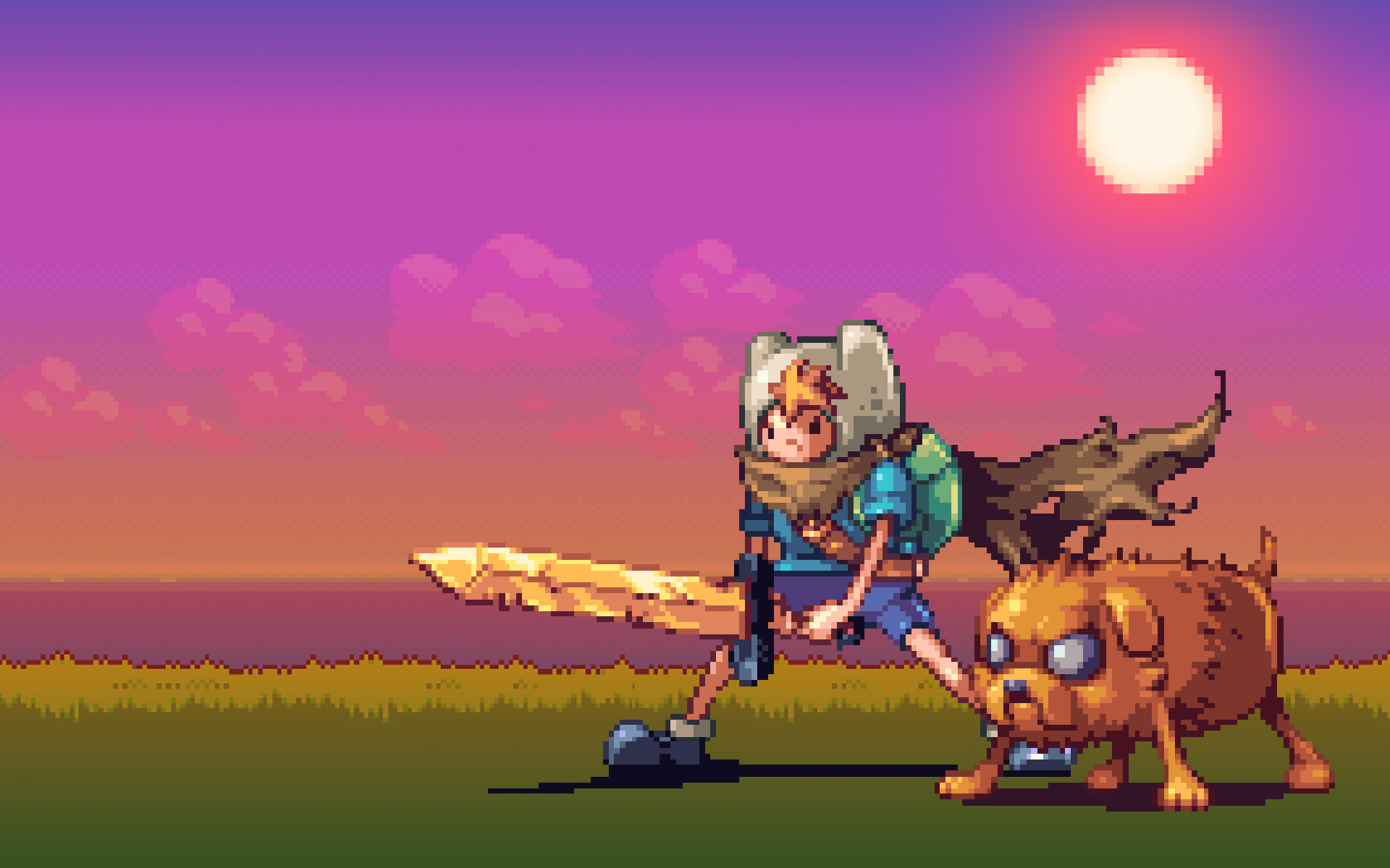 Animated Pixel Wallpaper (74+ images)