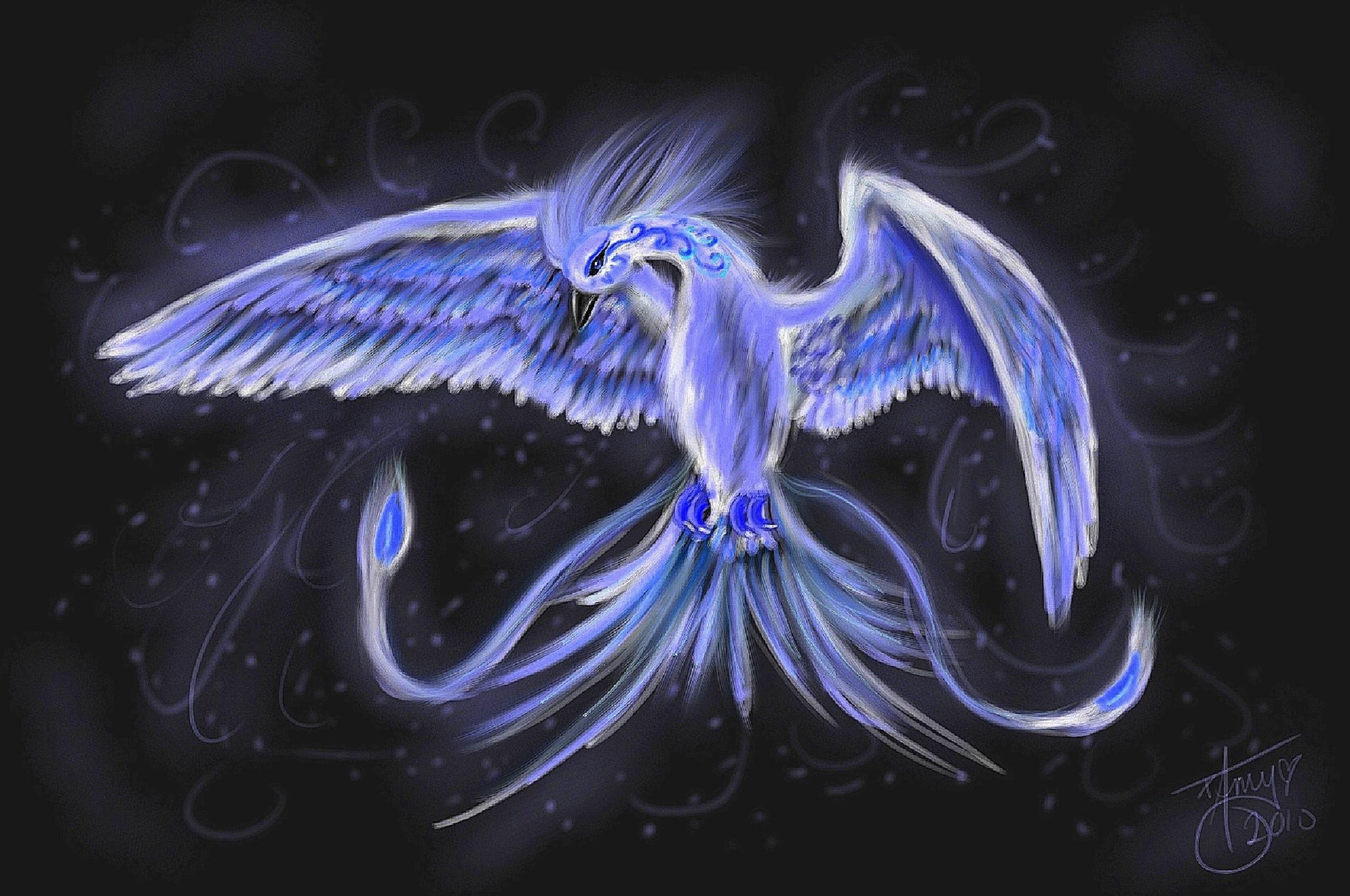 Blue Phoenix Wallpaper (76+ images)