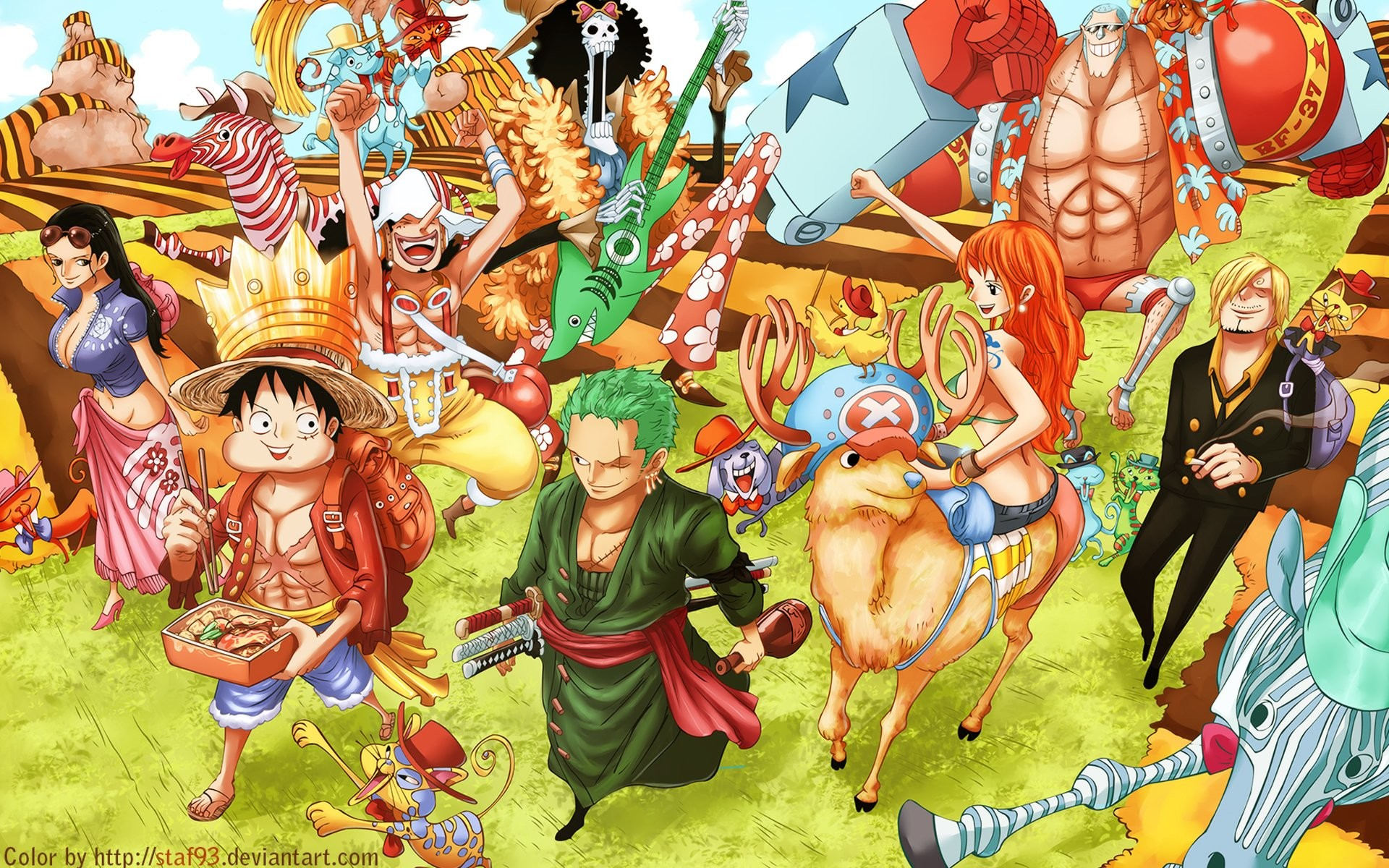 1920x1200 HD Wallpaper | Background ID:606282.  Anime One Piece