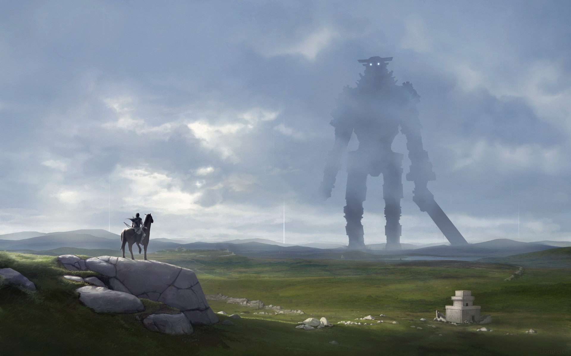 Shadow of the colossus wallpaper 67 images - Shadow of the colossus iphone wallpaper ...
