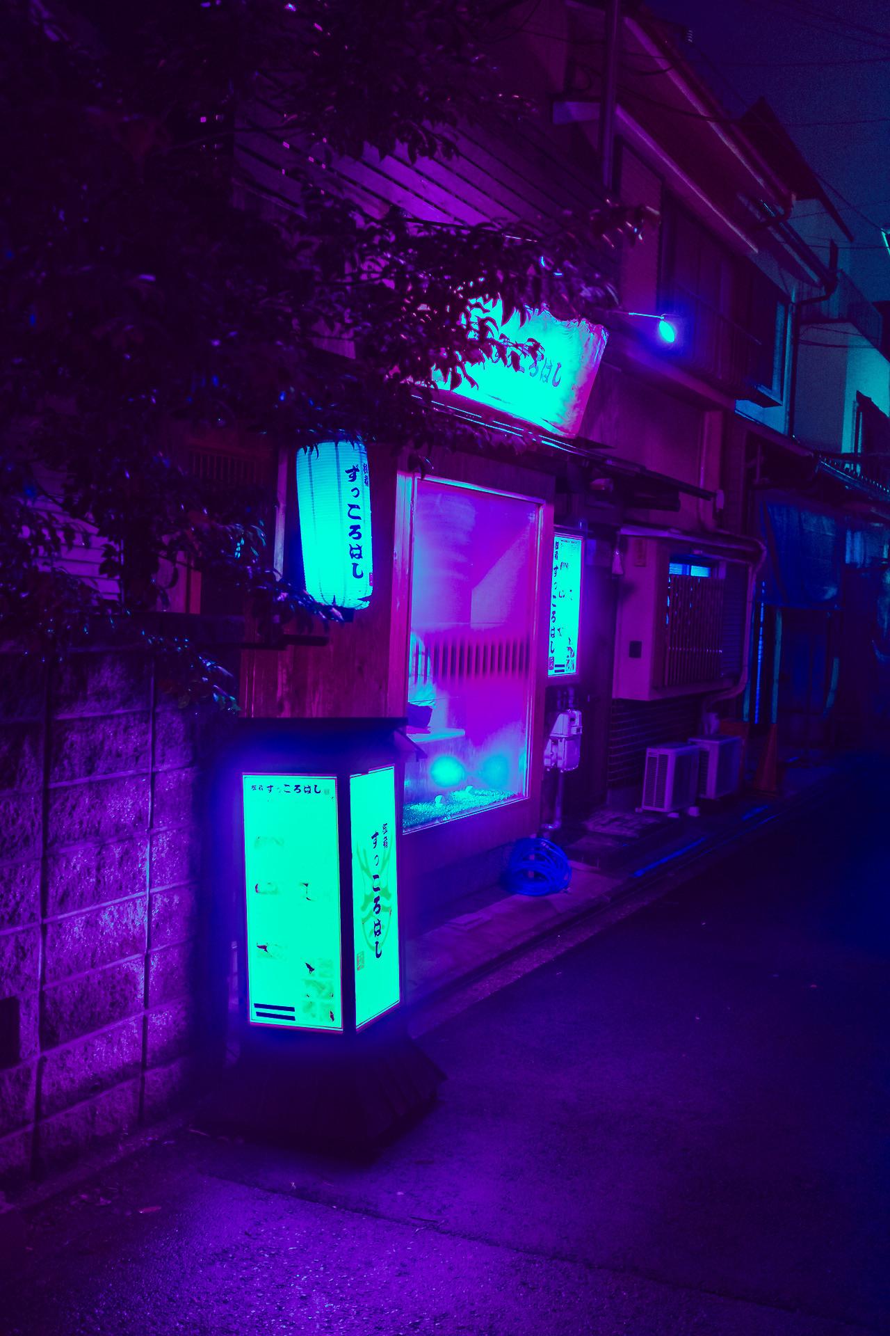 Neon Lights iPhone Wallpaper (76+ images)