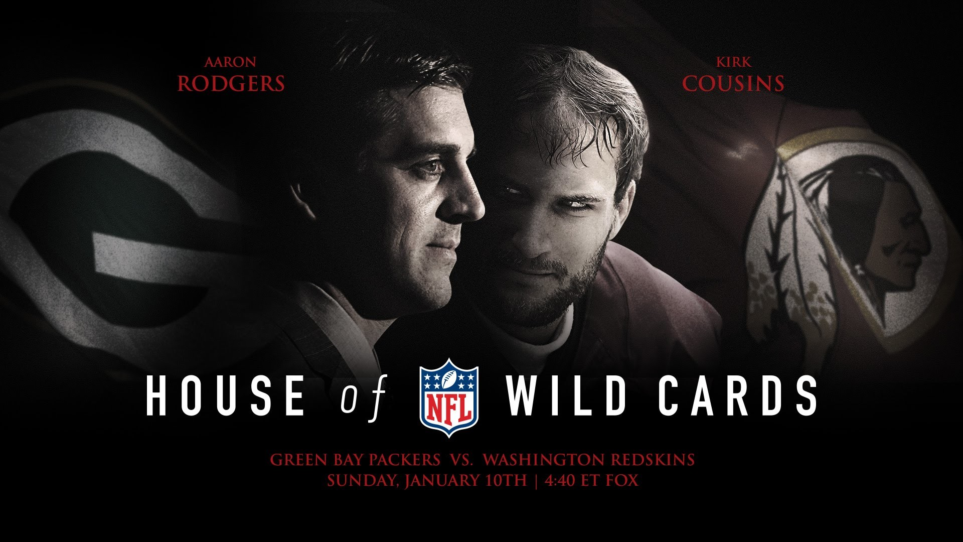 1920x1080 House of Wild Cards: Packers vs. Redskins Wild Card Weekend Movie Trailer |  NFL - YouTube