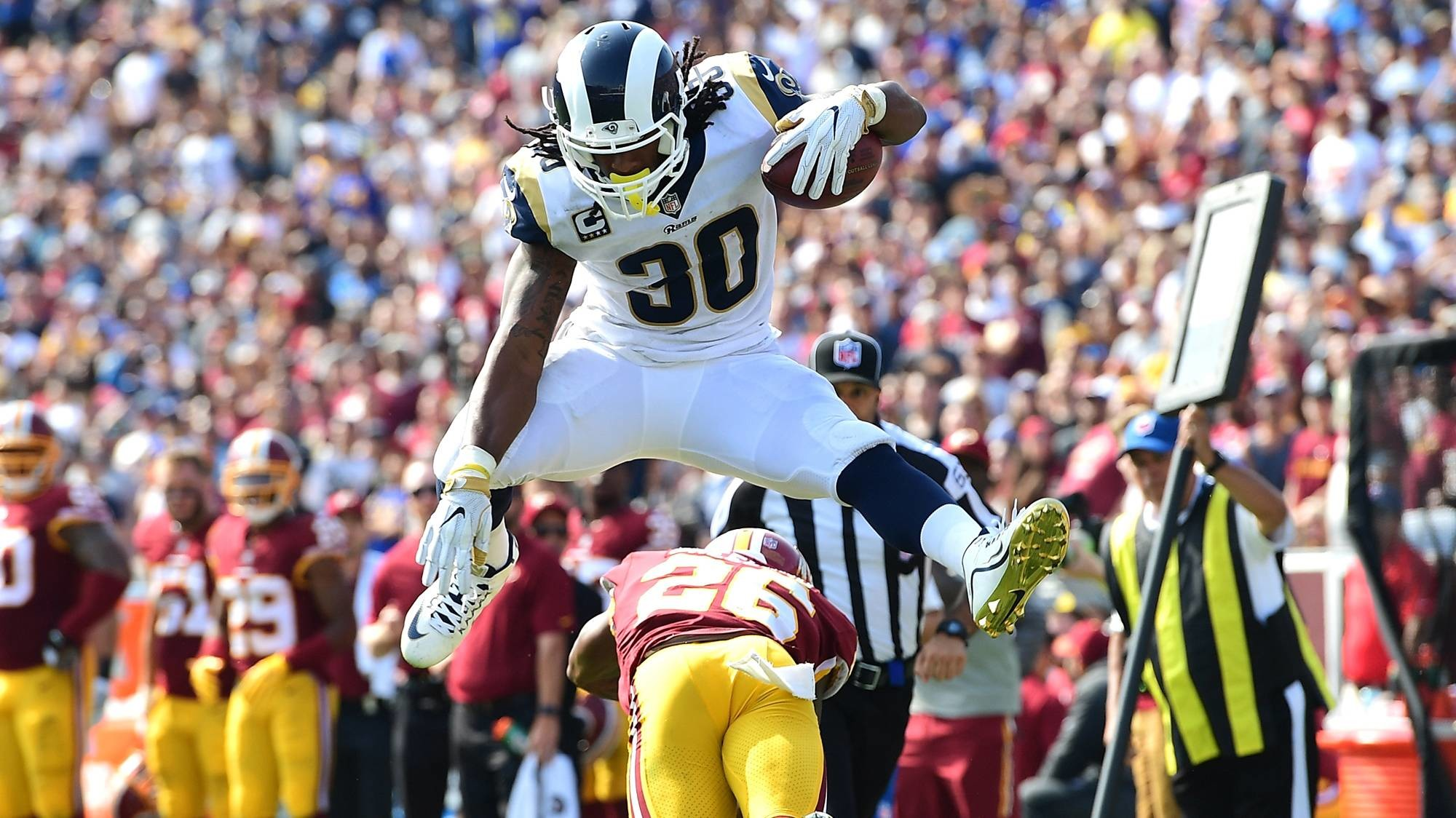 the best attitude c8846 dc77a Todd Gurley Wallpaper Rams (86+ images)