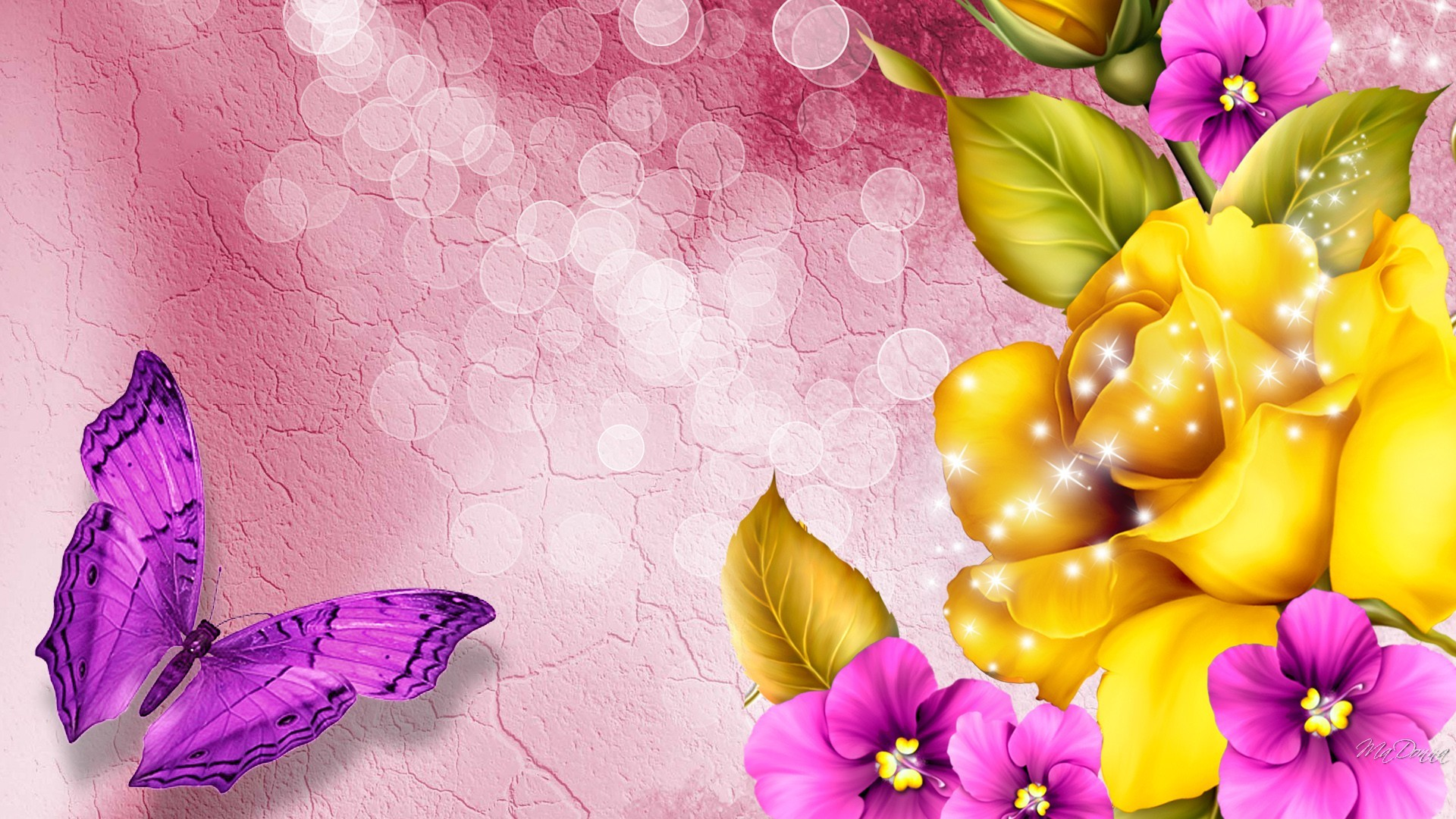 1920x1080 Colorful Flower HD Wide Wallpaper for Widescreen (51 Wallpapers)
