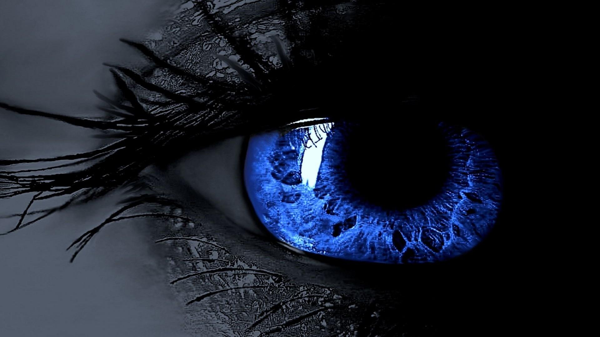 Blue eyes wallpaper hd
