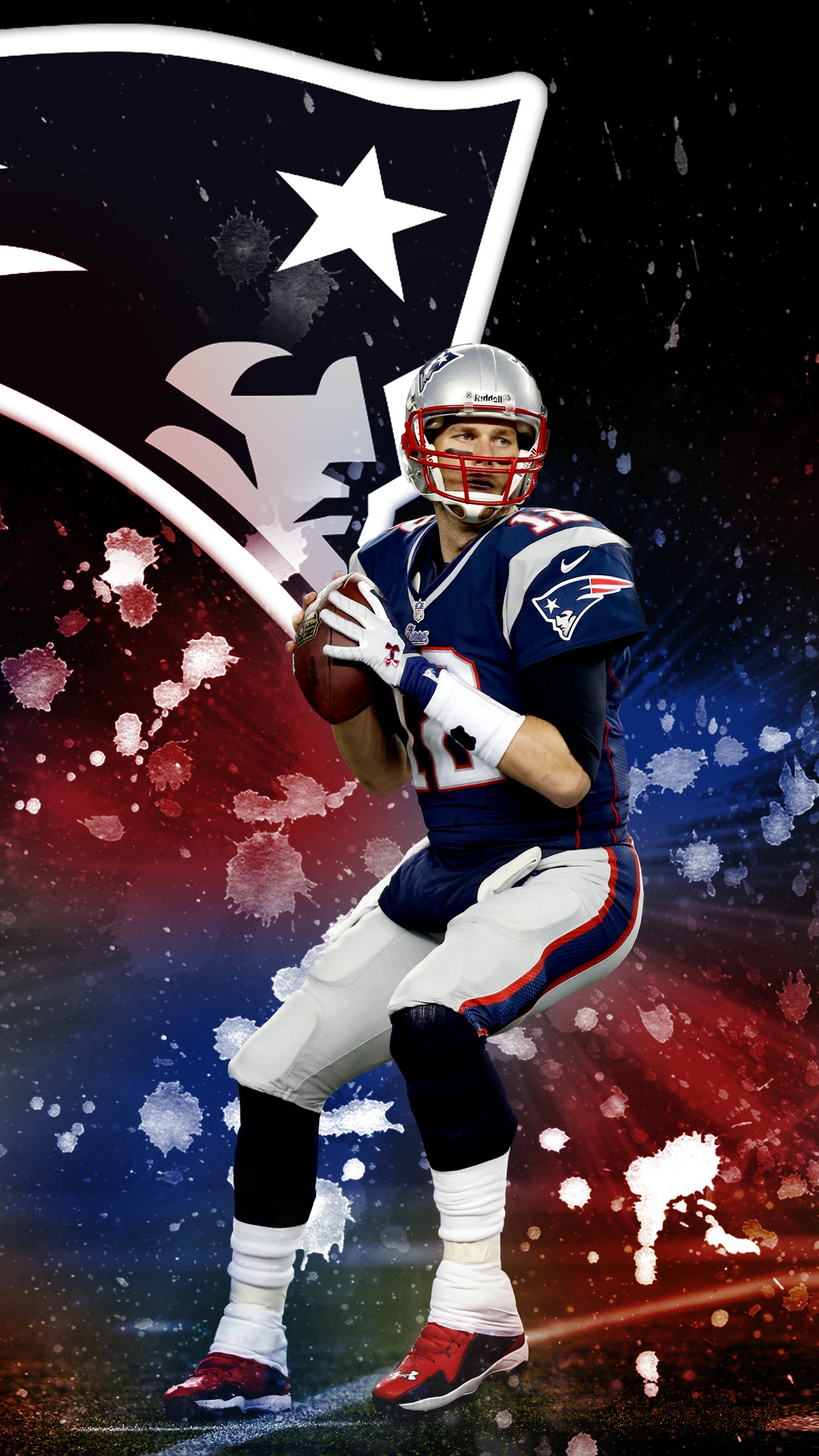 1080x1920 I made a Tom Brady phone wallpaper for my fellow Champions :) Hope you all  enjoy it!