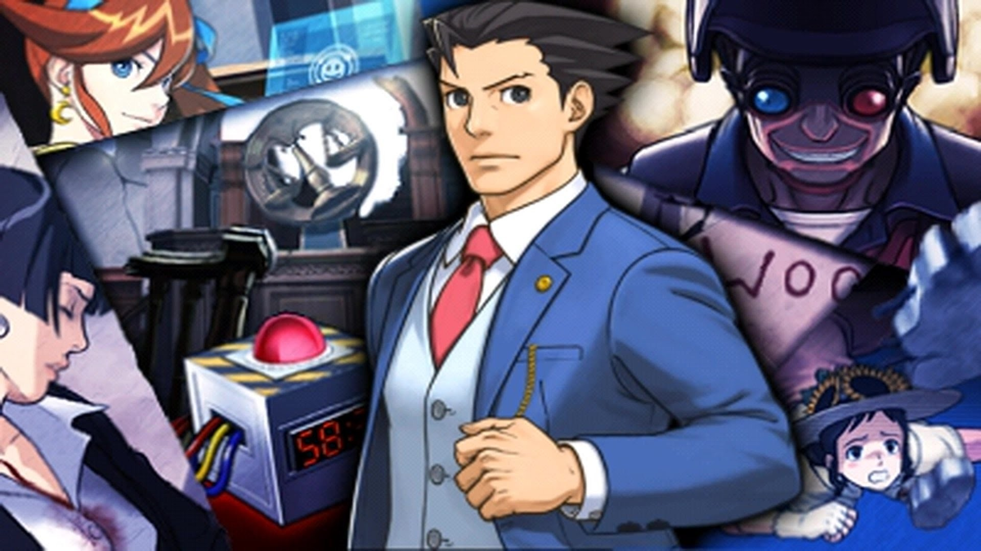 1920x1080 Phoenix Wright: Ace Attorney - Dual Destinies - Episode 1: Turnabout  Countdown Playthrough [3DS] - YouTube