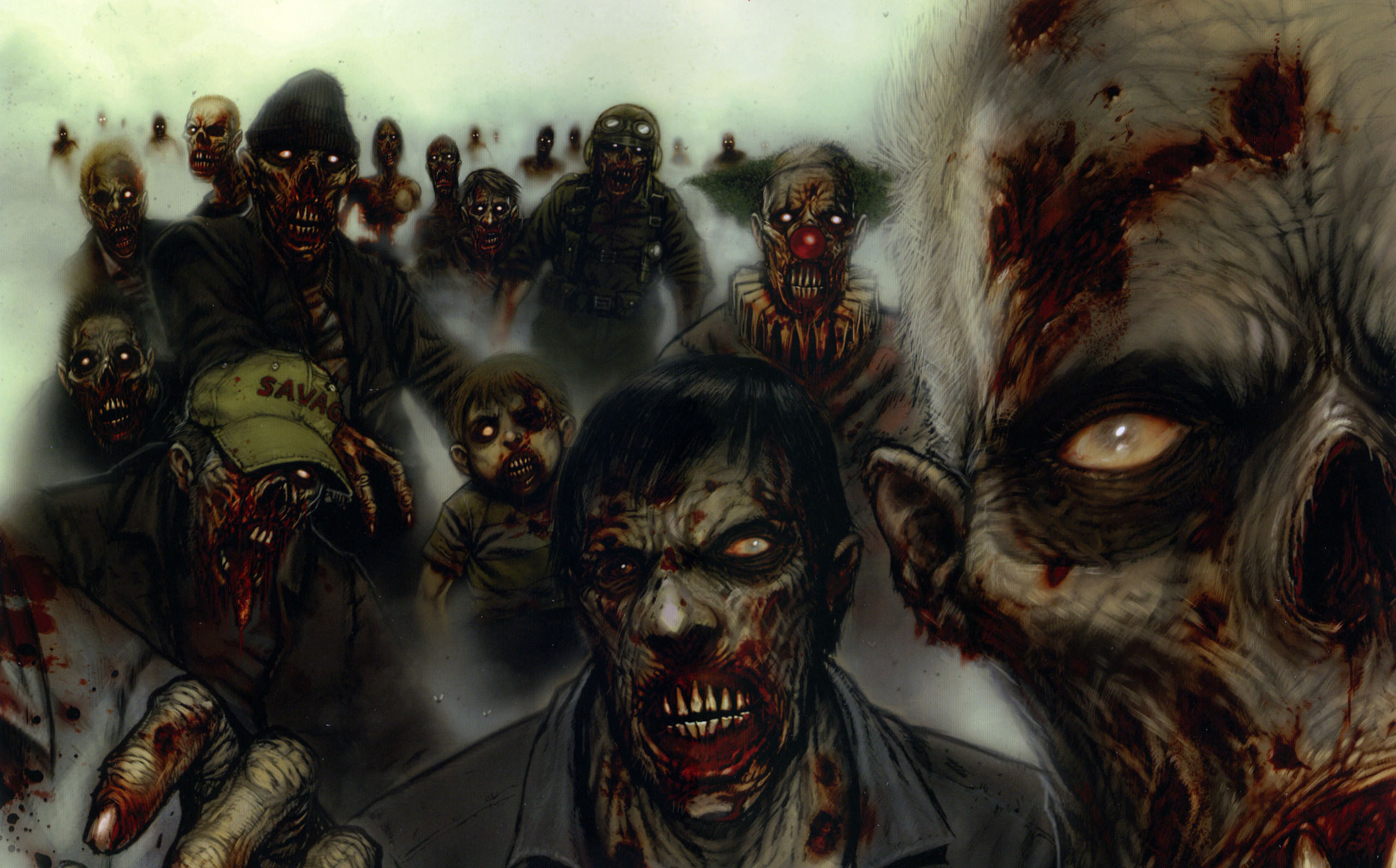 2560x1592 HD Wallpaper | Background ID:45893.  Dark Zombie