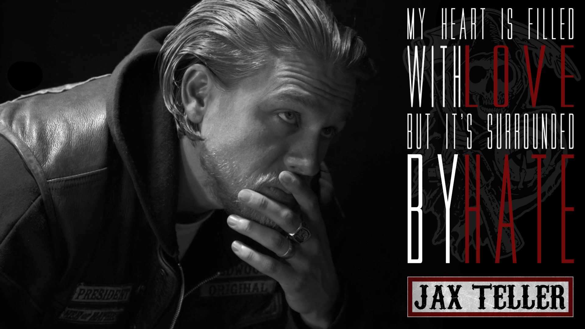 1920x1080 ... Sons of Anarchy - Jax Teller - Fan Art by CoppersGraphics