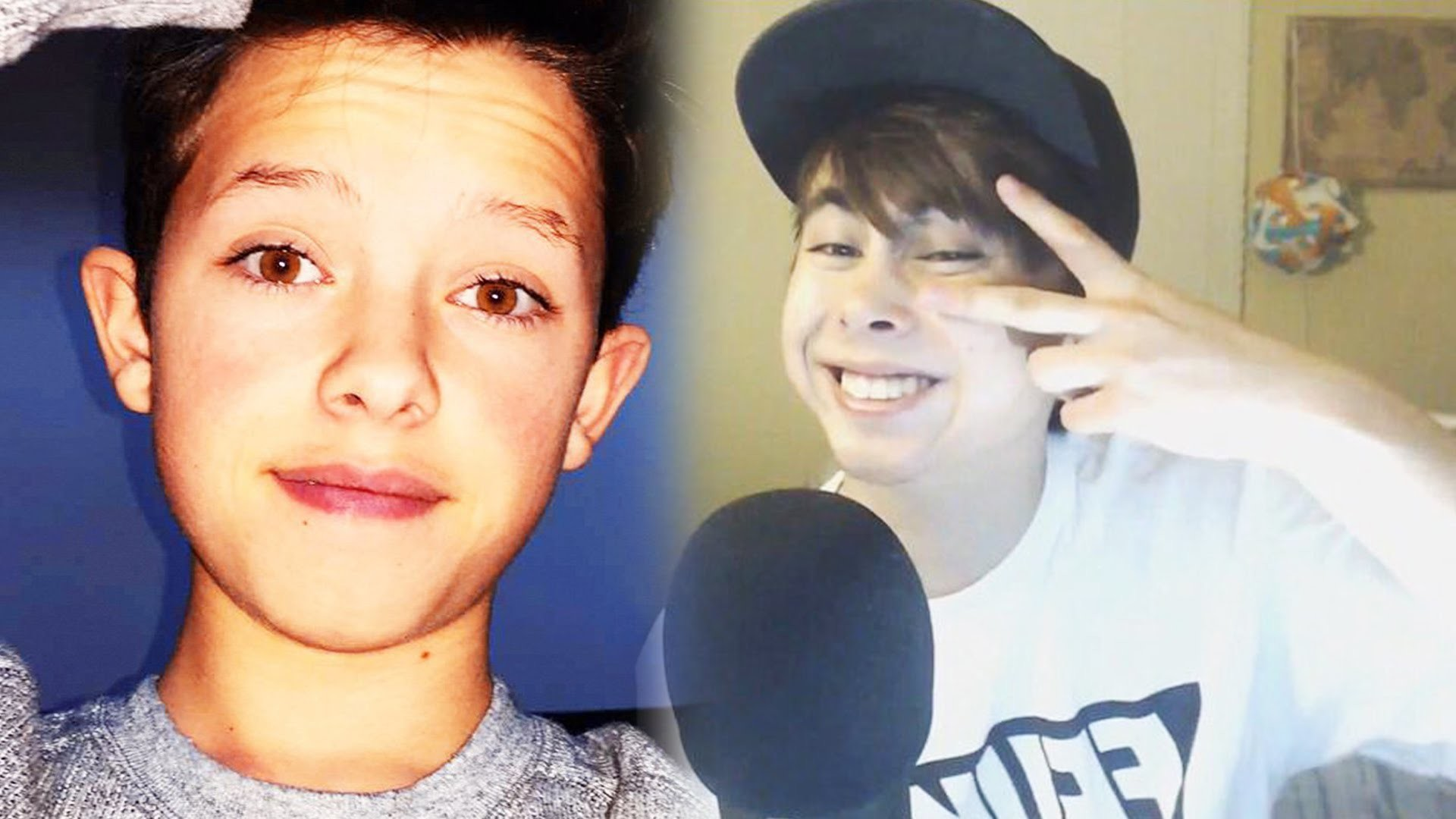 1920x1080 Leafy & Jacob Sartorius HACKED! YouTuber EXPOSED Himself - KSI, MattyBRaps,  SSSniperWolf, PewDiePie - YouTube