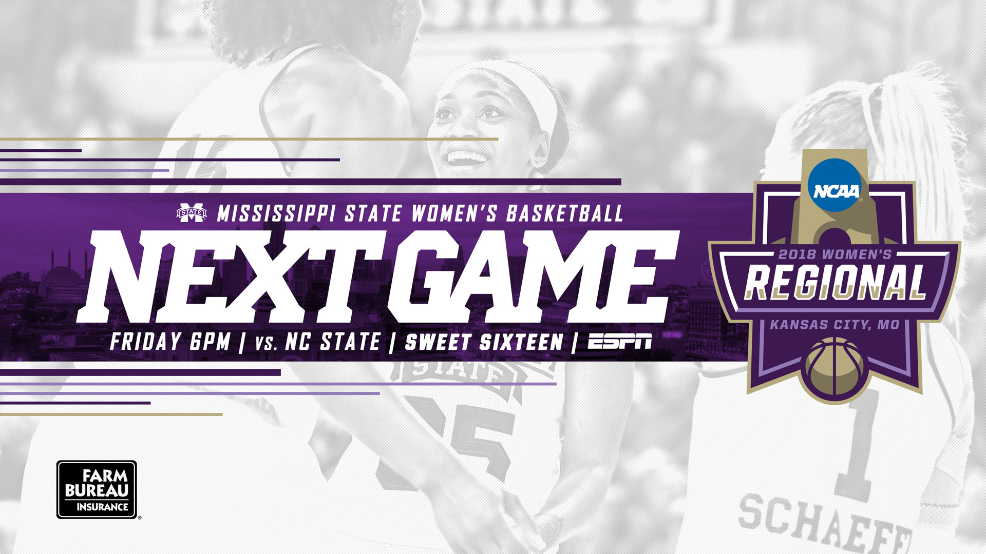 1920x1080 1 Seed MSU Meets NC State Friday In Sweet 16