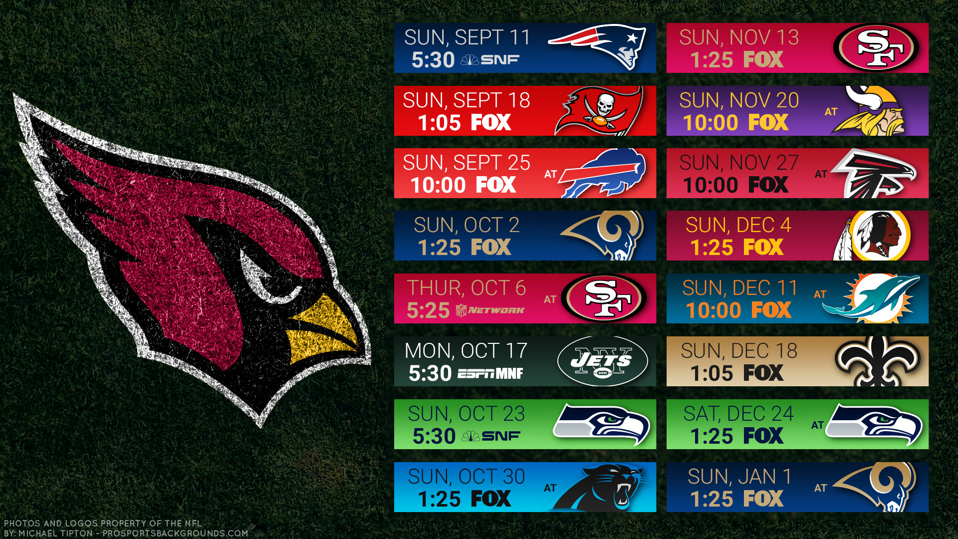 1920x1080 Arizona Cardinals Helmet iPad Wallpaper And Background