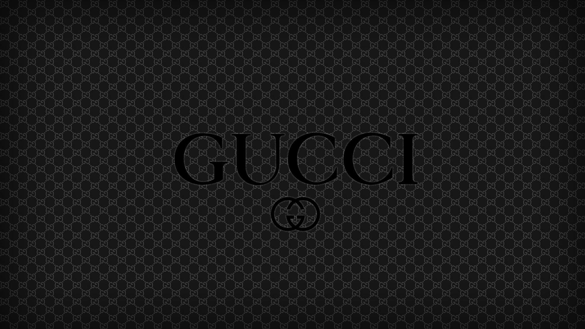 Gucci Logo Wallpaper (63+ images)  Black