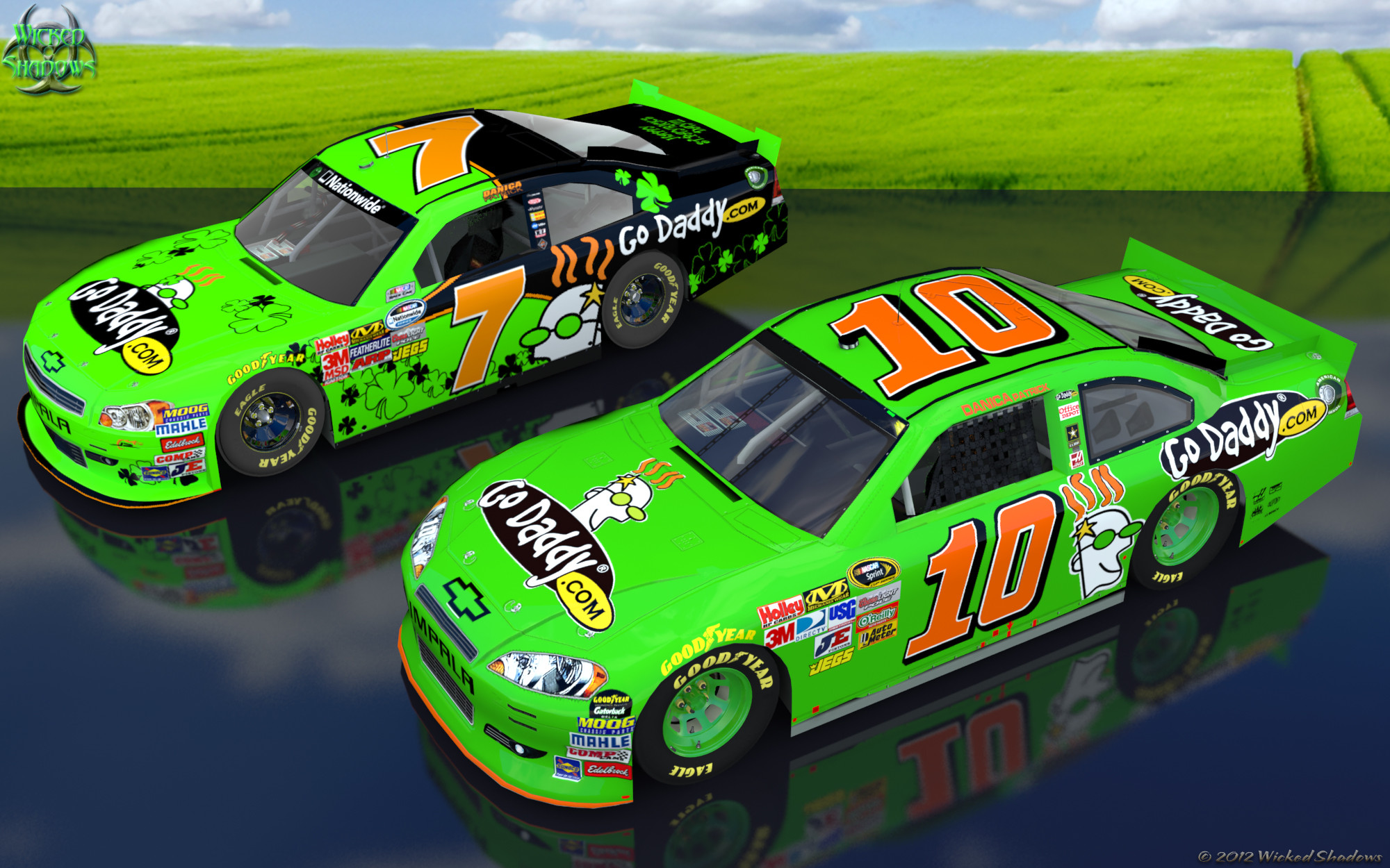 2000x1250 Wallpapers By Wicked Shadows: Danica Patrick 2012 double .