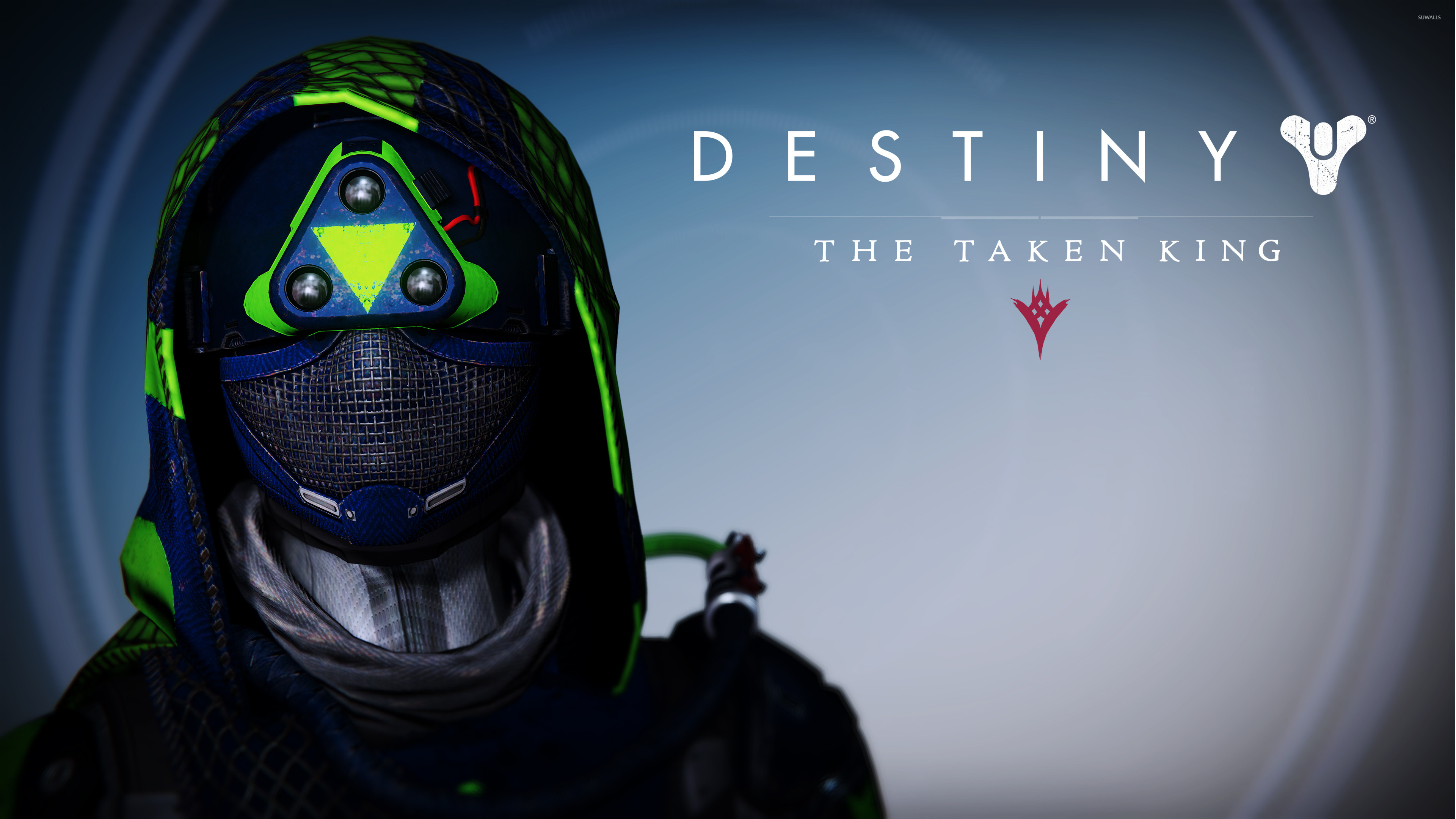 3840x2160 Hunter female helmet - Destiny: The Taken King wallpaper  jpg