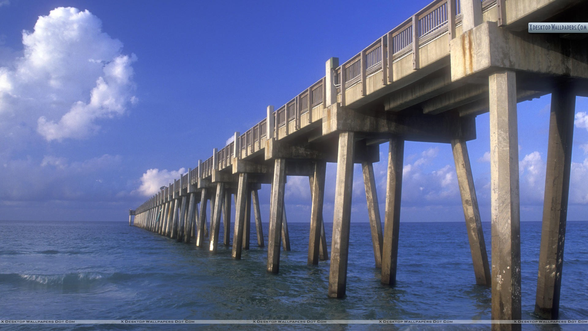 "1920x1080 You are viewing wallpaper titled ""Gulf Pier, Pensacola Beach ..."