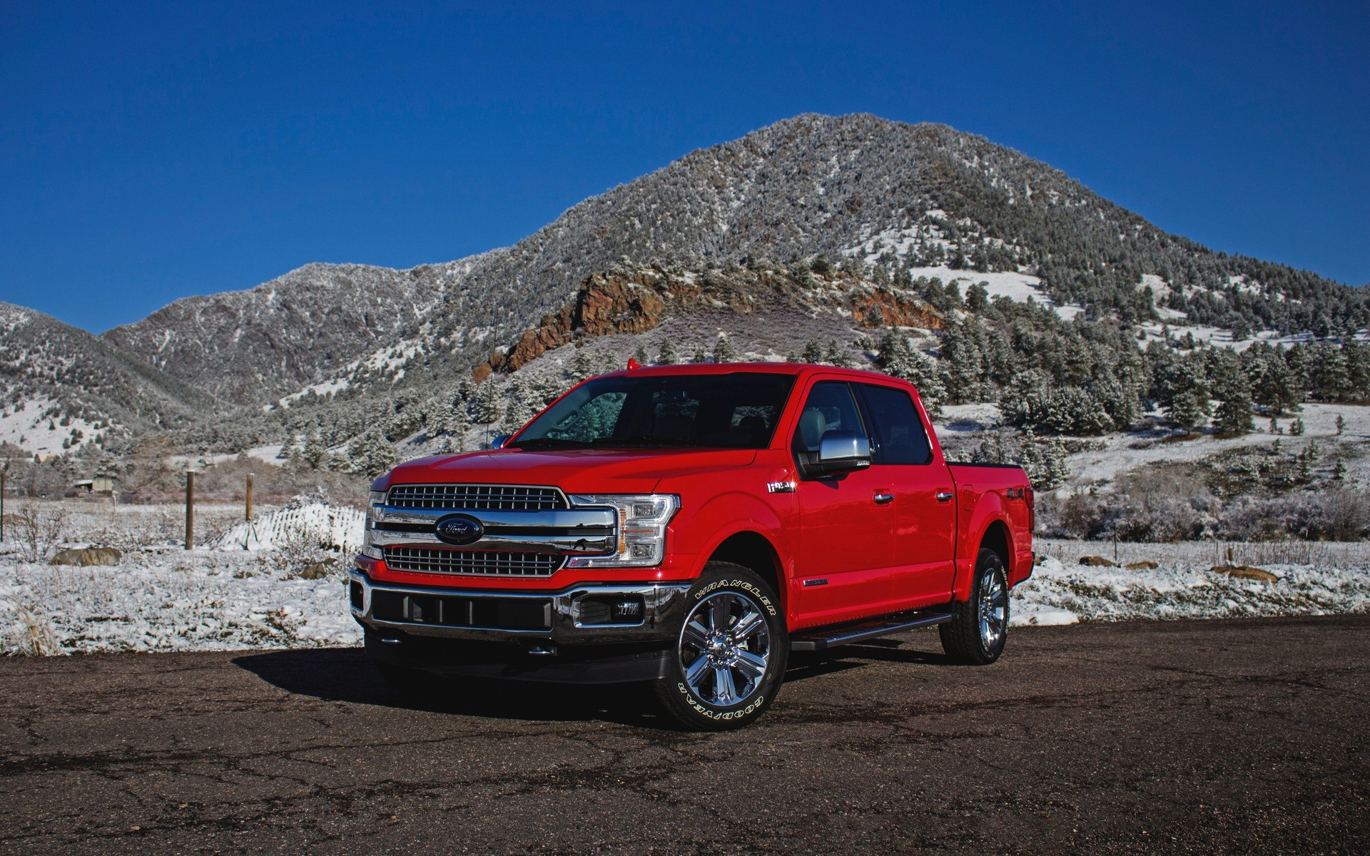 "1920x1200 2018 Ford F-150 Power Stroke: the ""Little"" Workhorse"