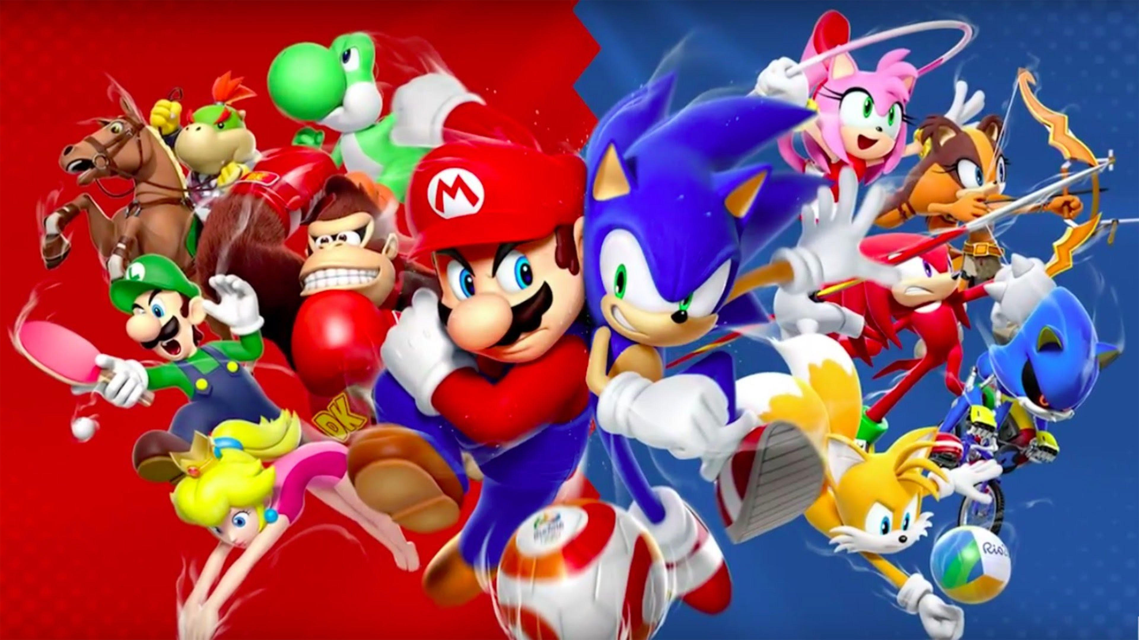 Mario And Sonic Wallpaper 76 Images