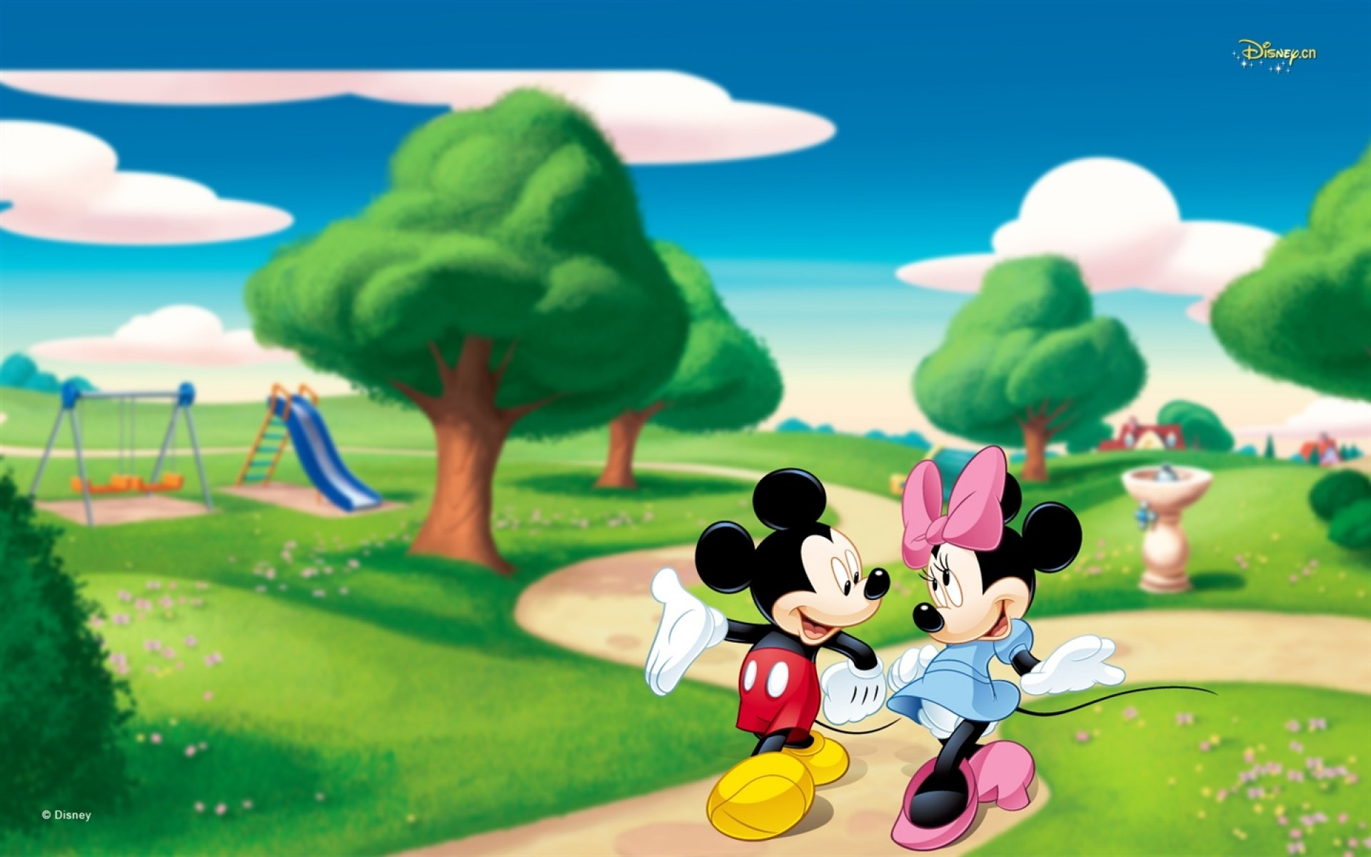 1920x1200 Mickey Mouse Wallpapers park