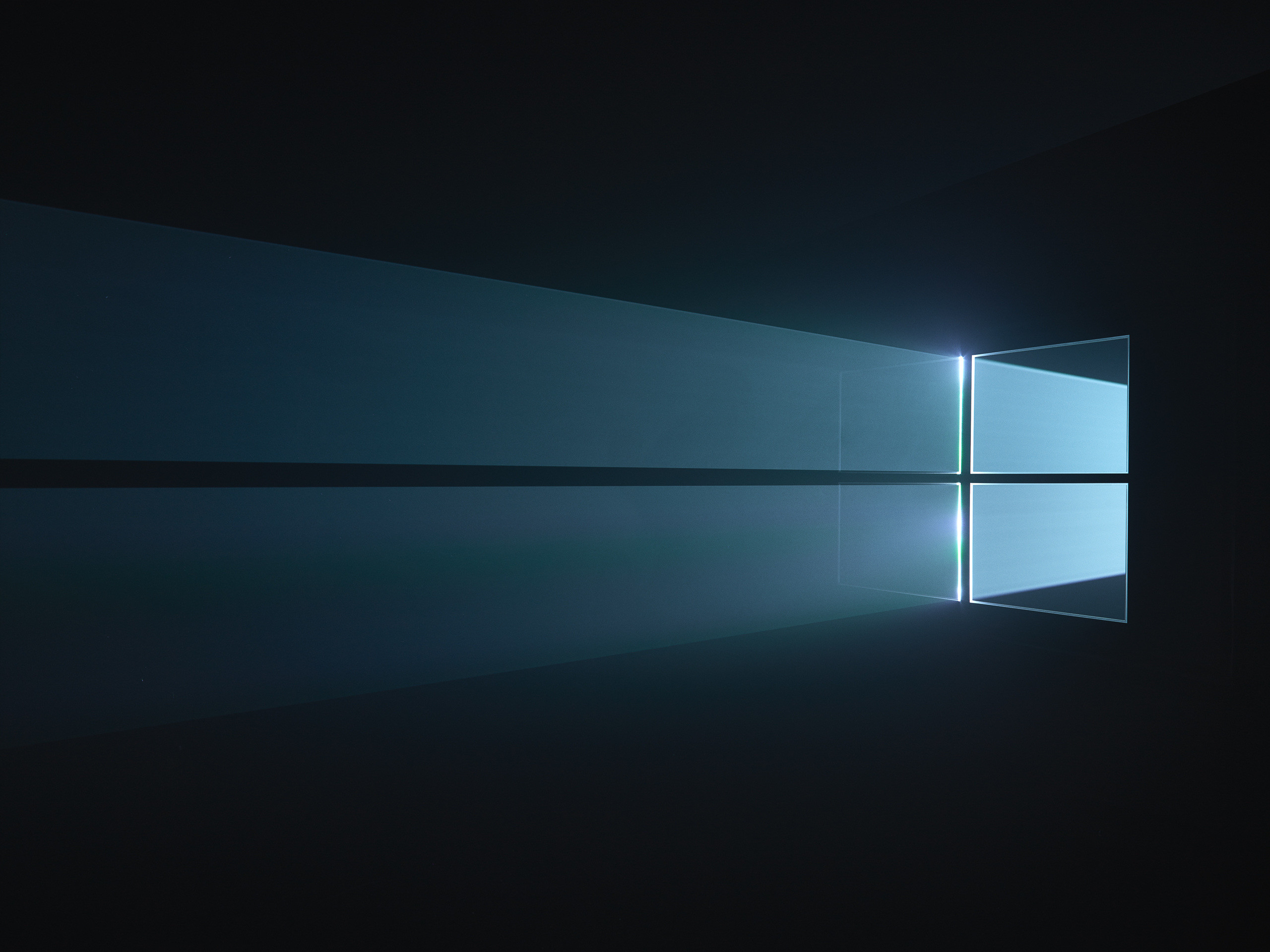 2560x1920 ... that brought a dark, moody definition and a distinctive, provocative  take. It gave the Windows logo a sense of mystery that's powerful in its  own way.