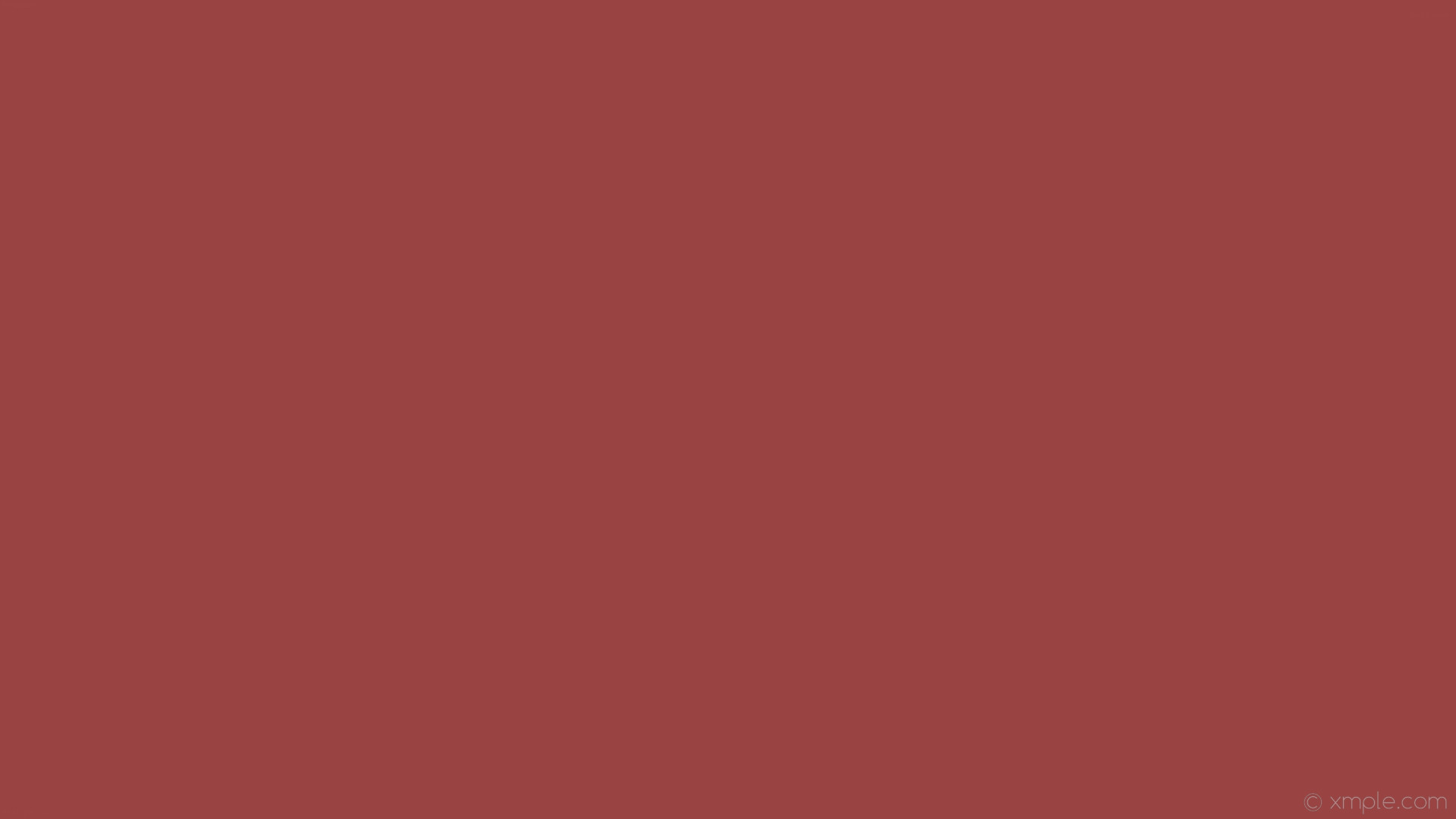 1920x1080 wallpaper plain single red one colour solid color #994443