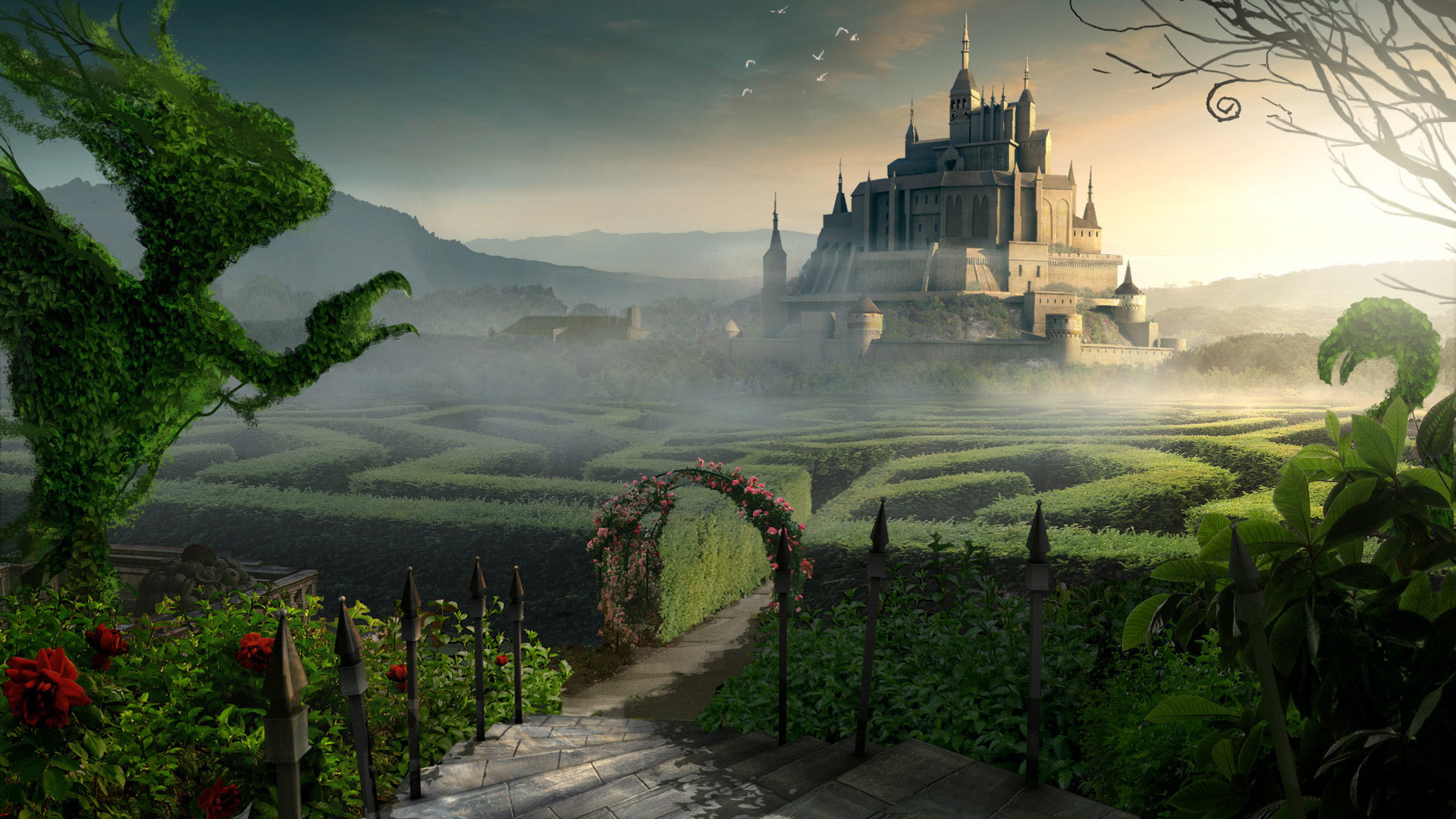 1920x1080 Hd wallpaper · Fantasy World 2