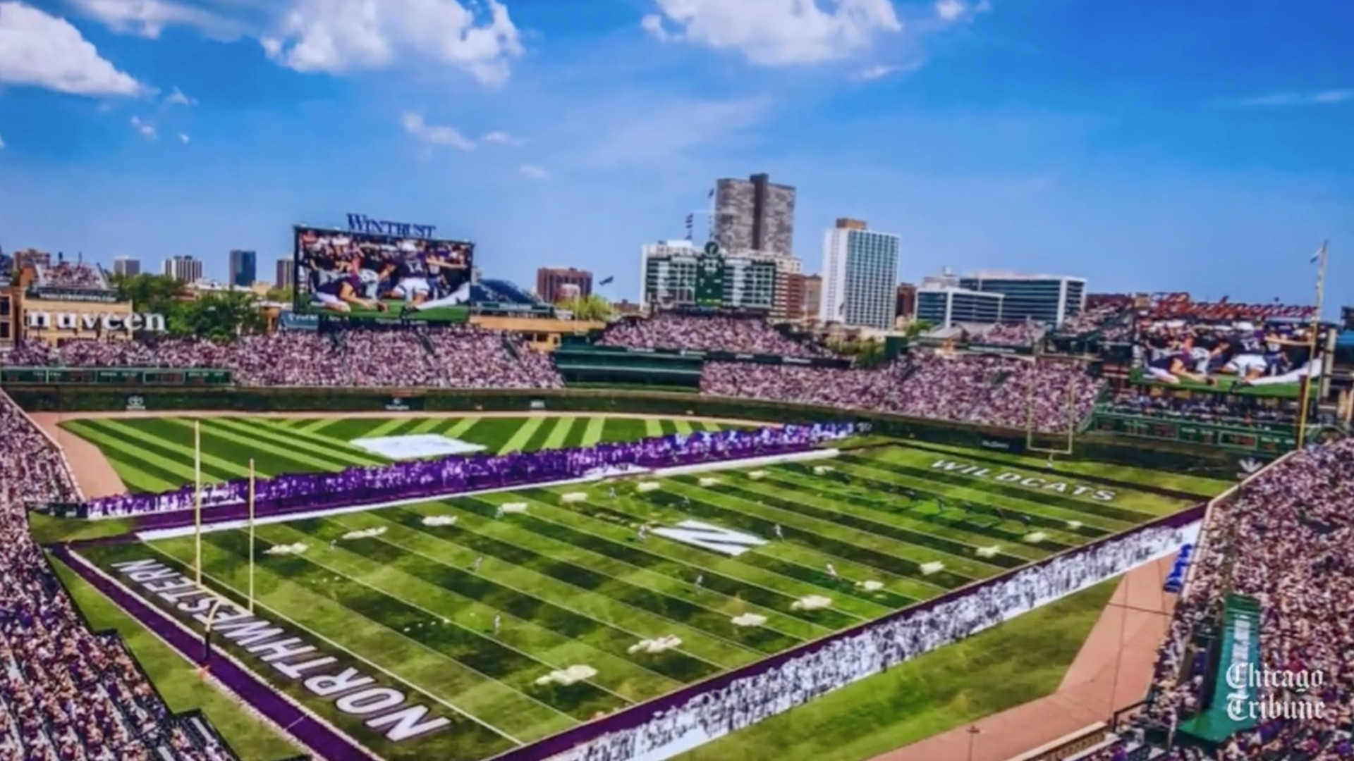 1920x1080 Wrigley Field to host Northwestern-Wisconsin football in 2020 — is a bowl  game next? - Chicago Tribune