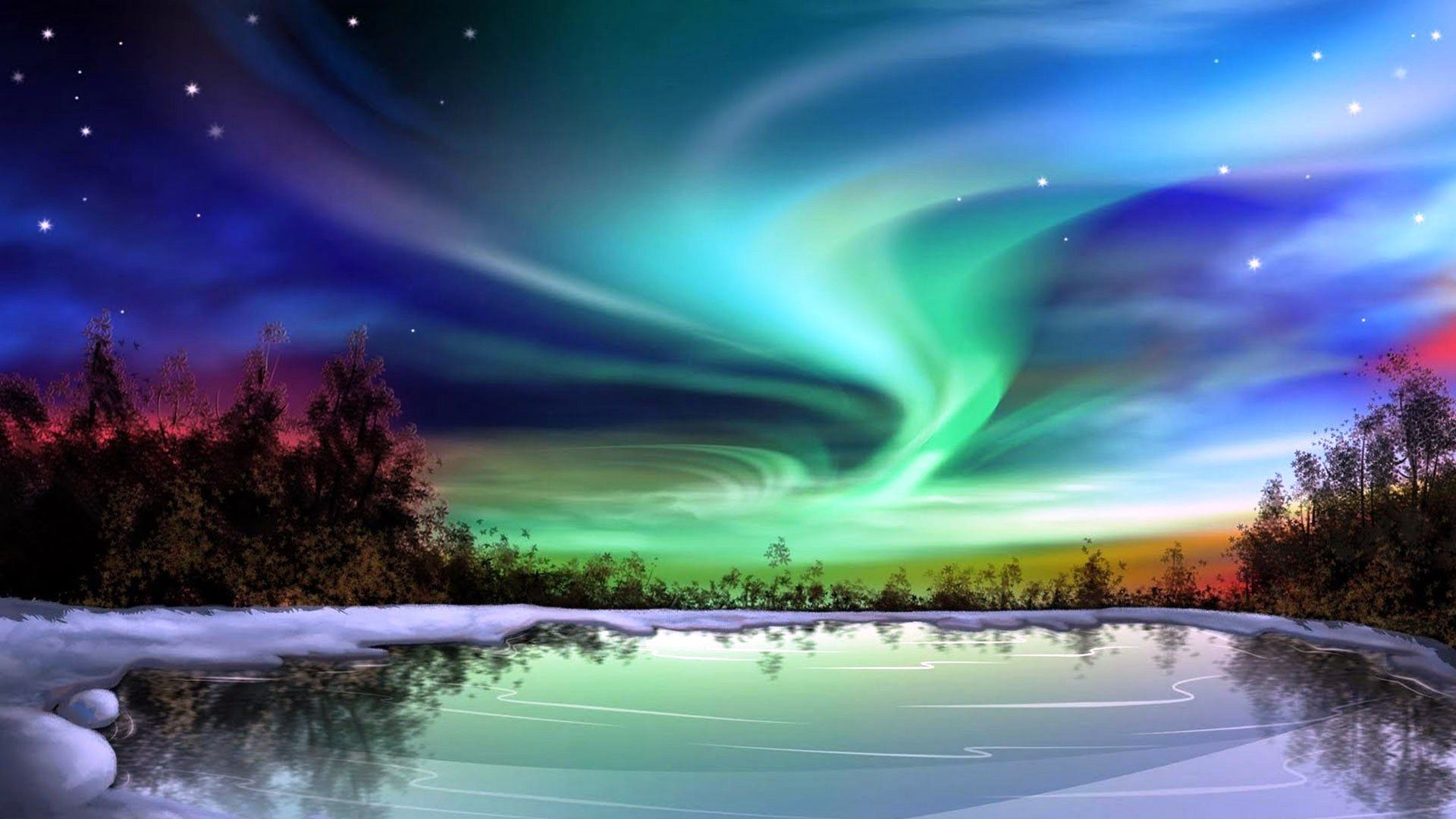 HD Northern Lights Wallpaper (70+ images)
