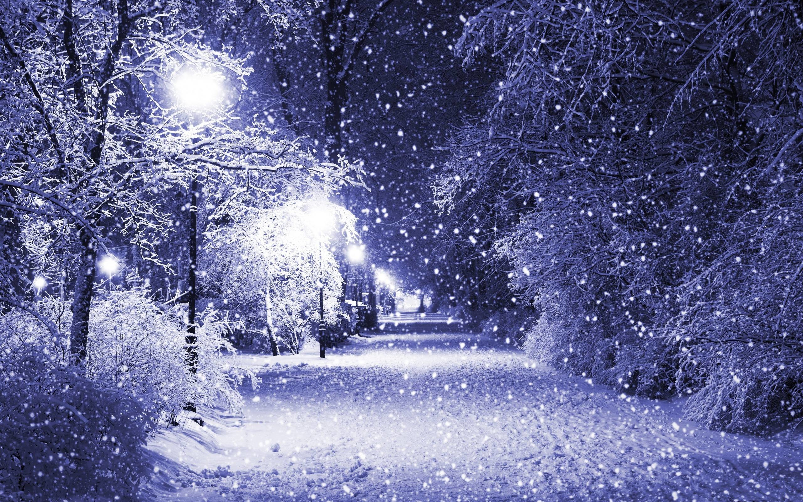 2560x1600 Pretty Winter Backgrounds Design Ideas Alley At Night