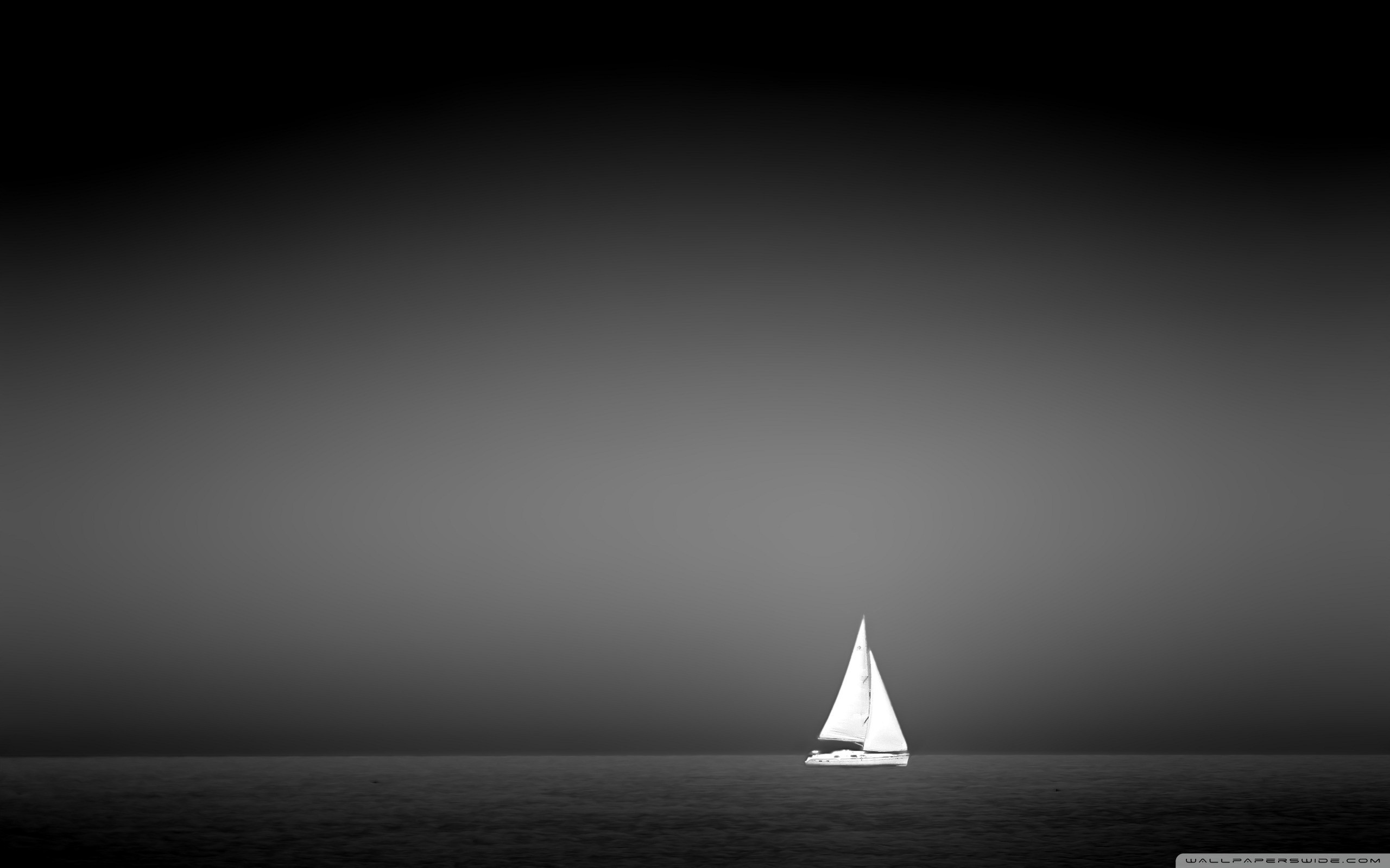 2560x1600 ... Sailboat On The Sea HD HD Wallpaper