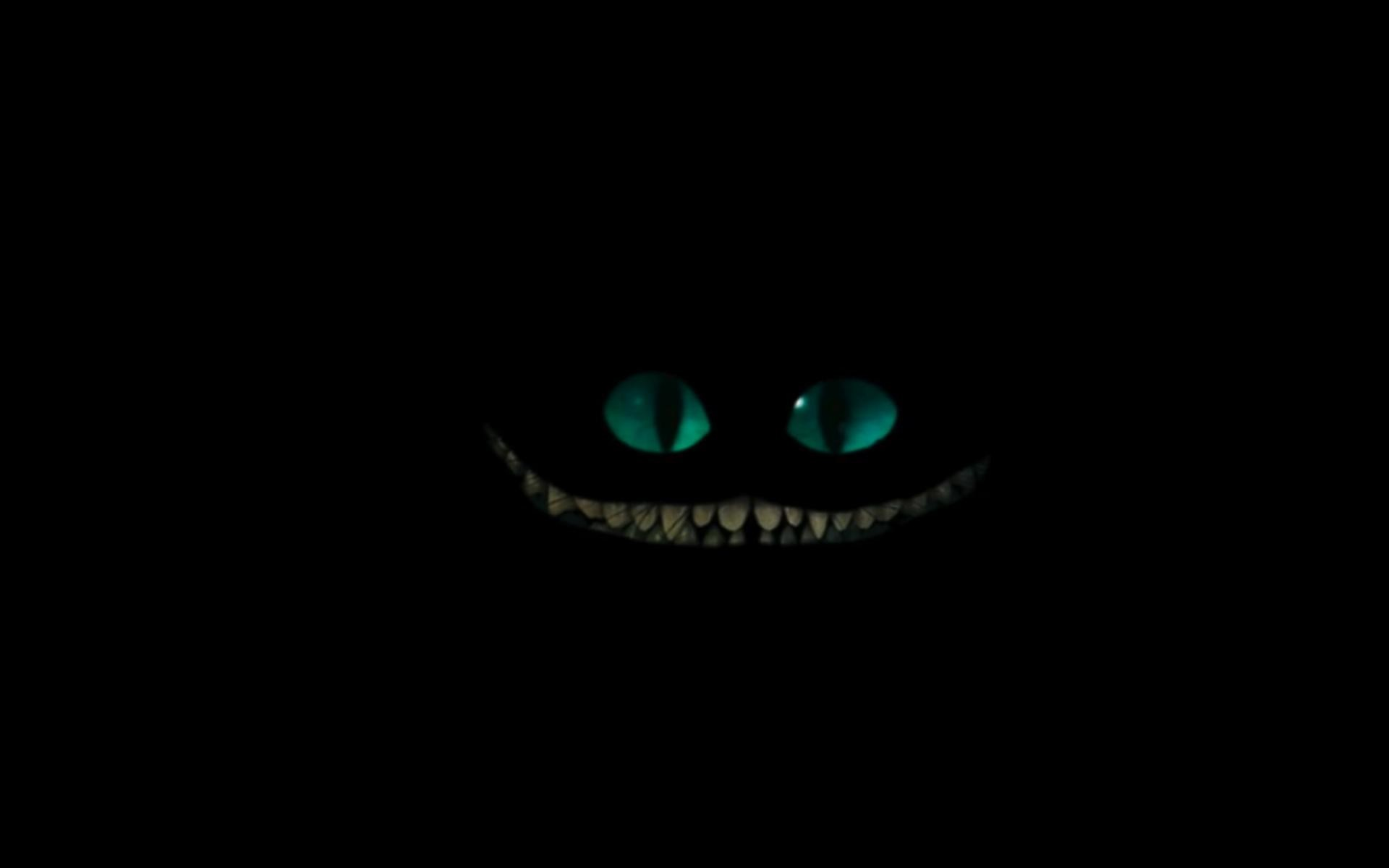 Cheshire Cat Tim Burton Wallpaper