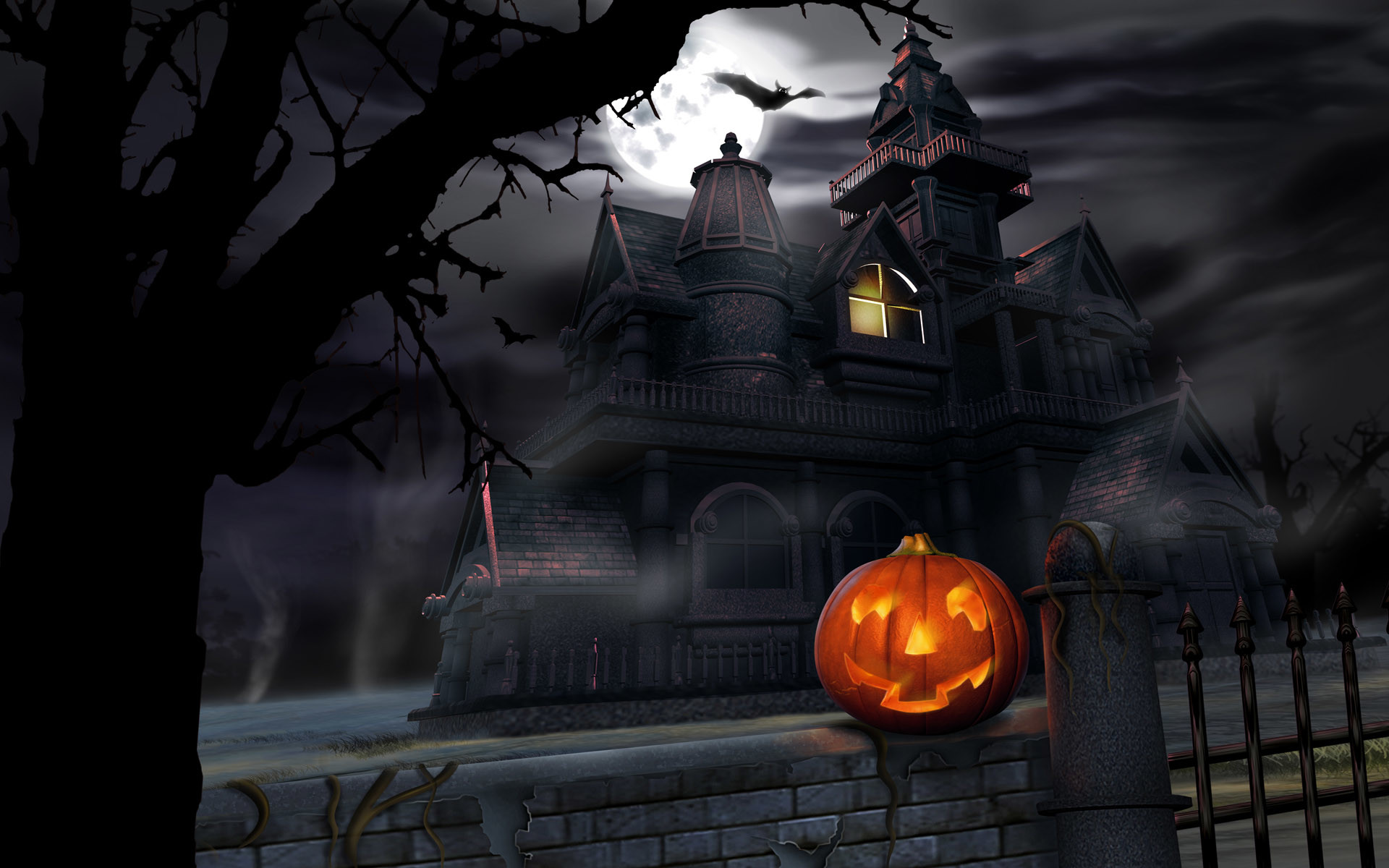 1920x1200 Scary-Halloween-2012-Pumpkin-HD-Wallpaper-2