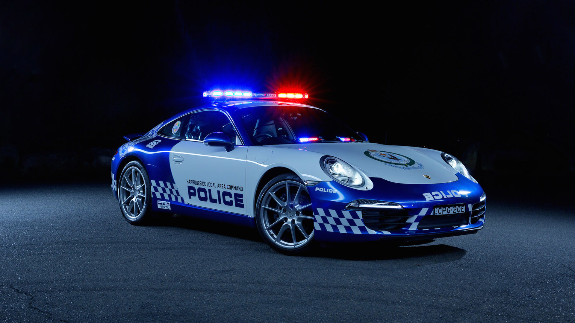1920x1080 Police Car Wallpapers Widescreen