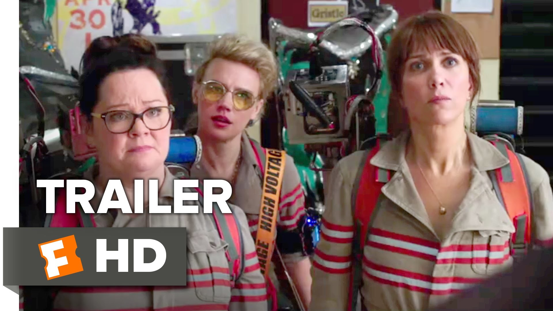 1920x1080 Ghostbusters Official Trailer #2 (2016) - Kristen Wiig, Melissa McCarthy  Movie HD - YouTube