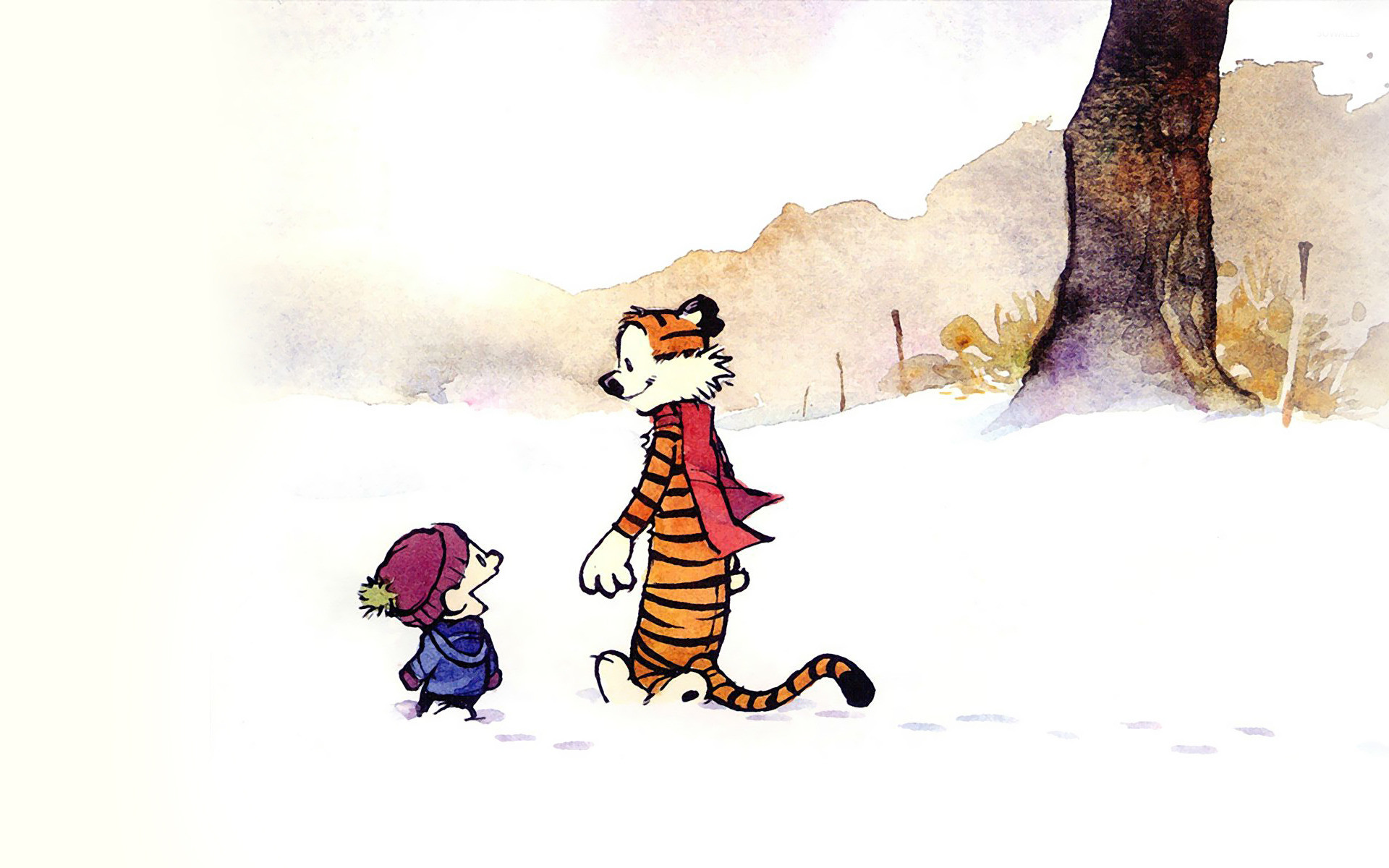 1920x1200 Calvin and Hobbes [4] wallpaper