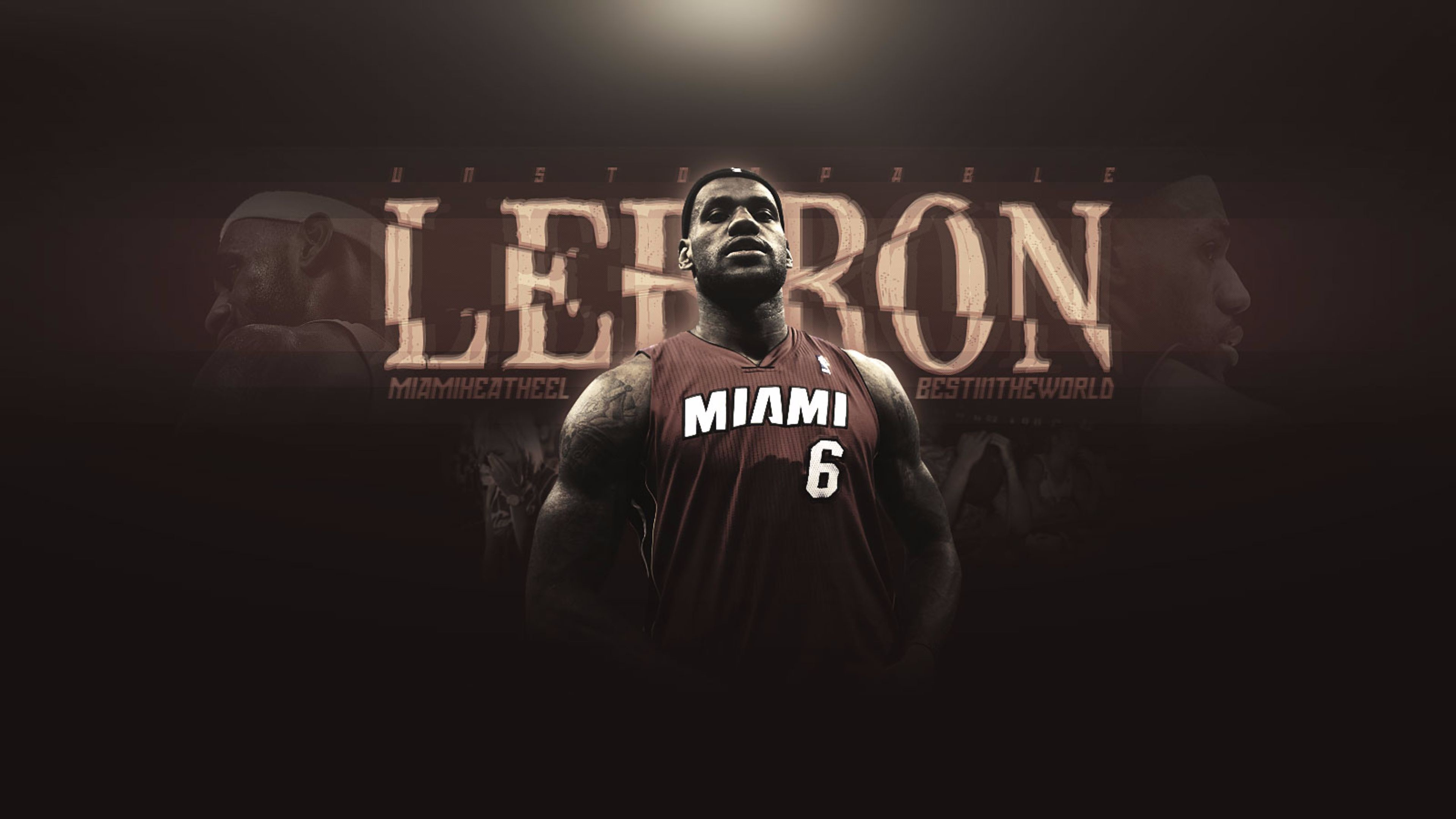 3840x2160 LeBron James Miami Heat 4K