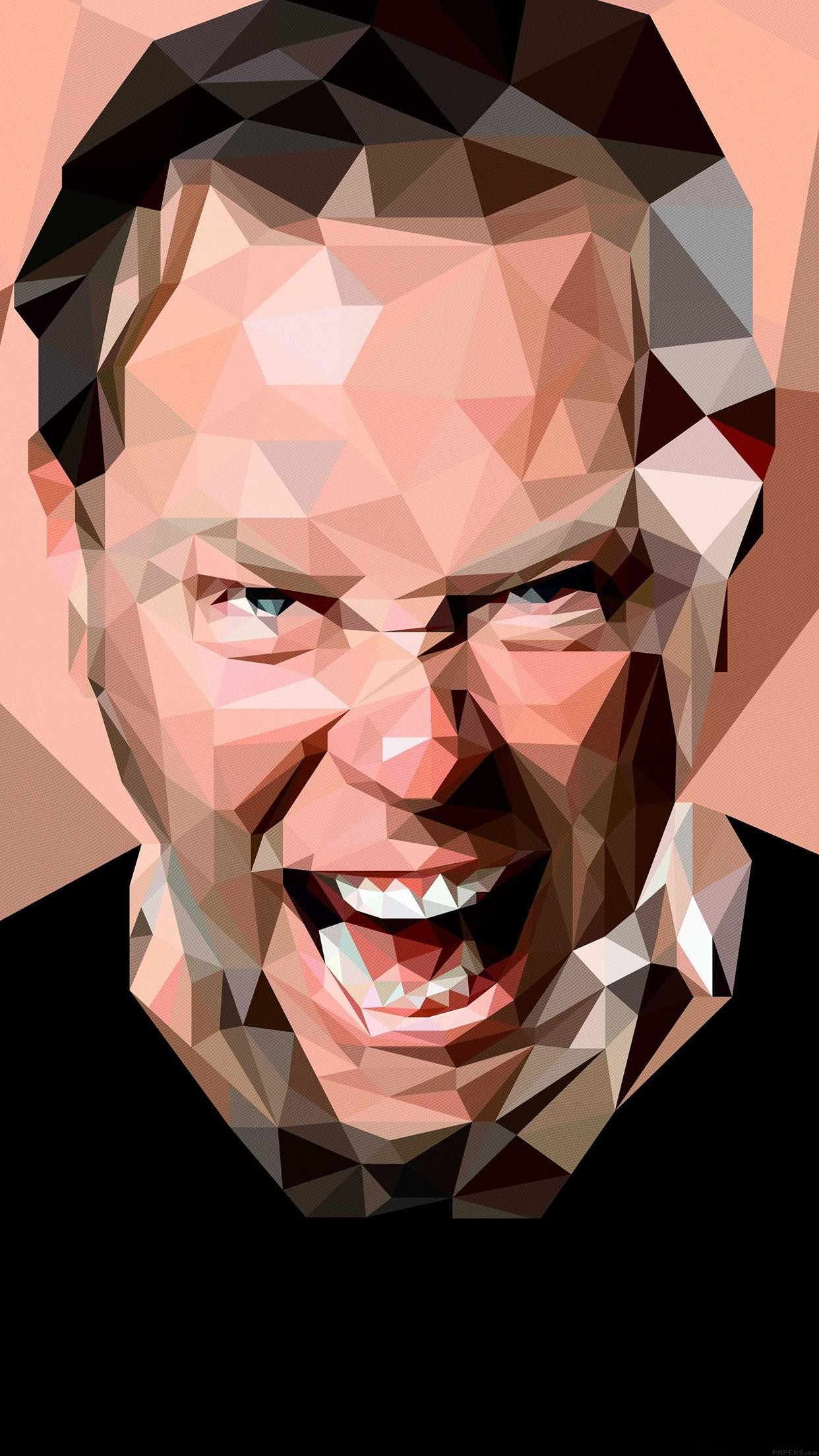 1242x2208 James Hetfield Music Metallica